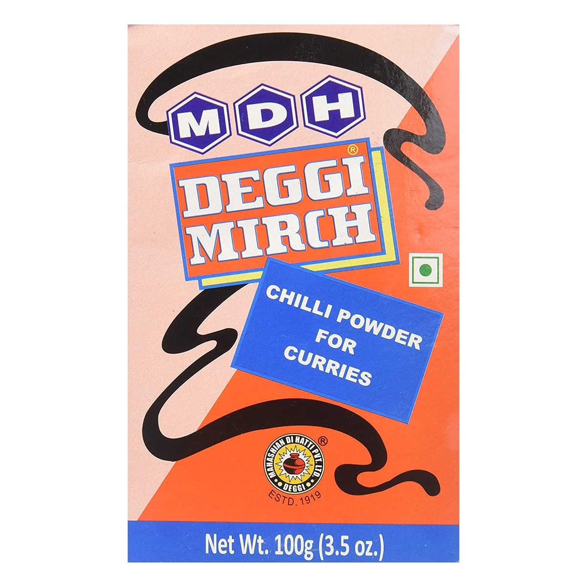 Buy MDH Deggi Mirch (Chilli Powder for Curries) - 100 gm