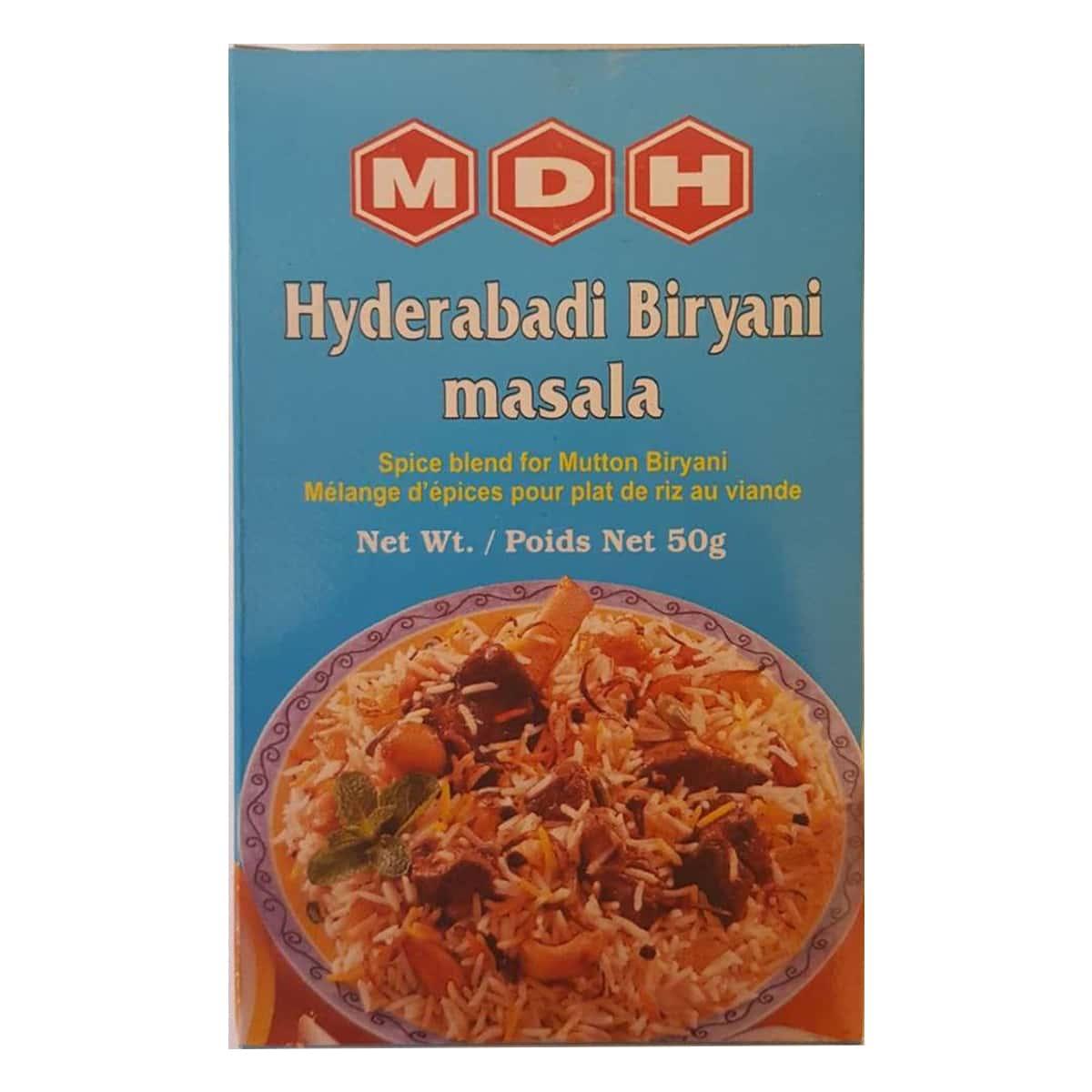 Buy MDH Hyderabadi Biryani Masala - 50 gm