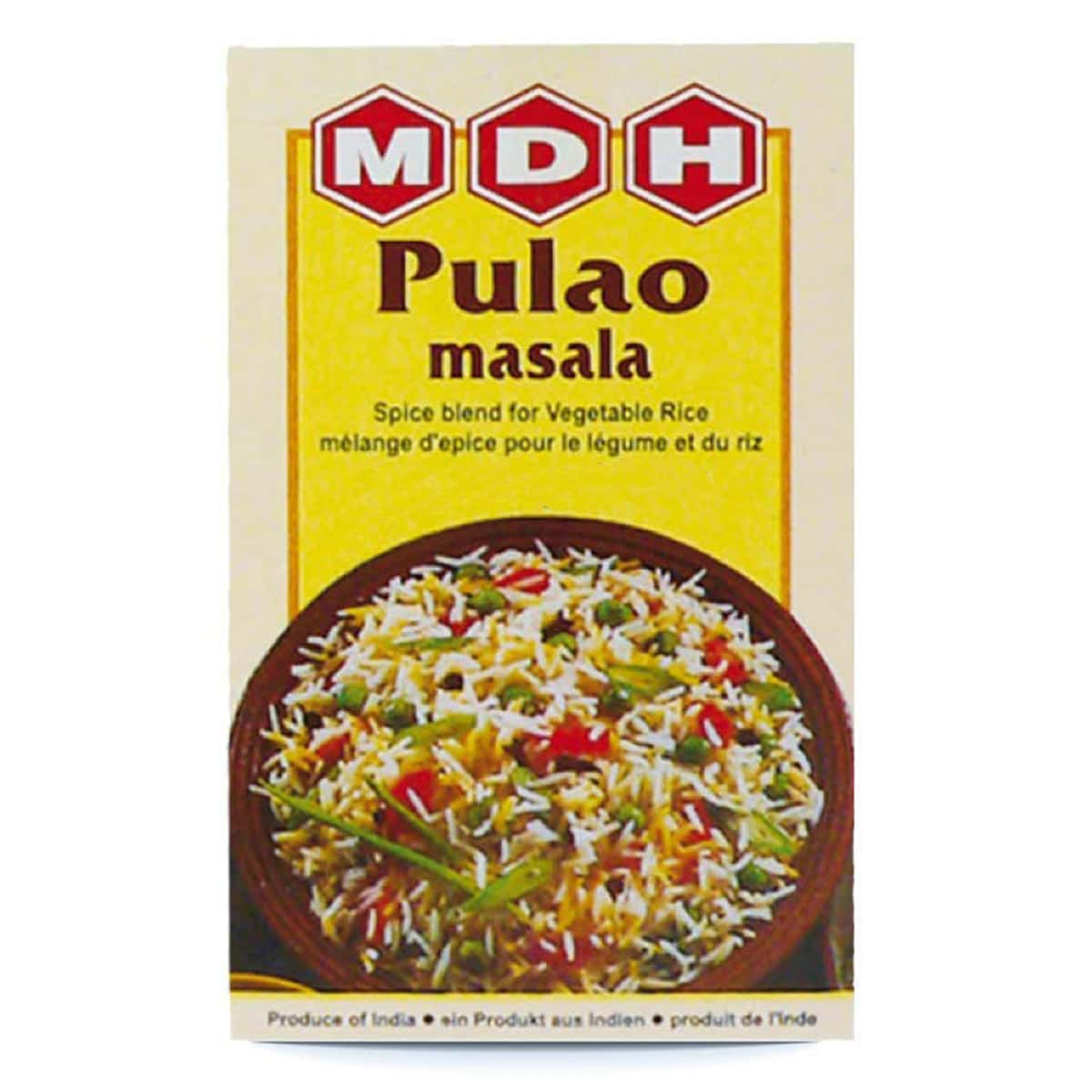 Buy MDH Pulao Masala - 100 gm