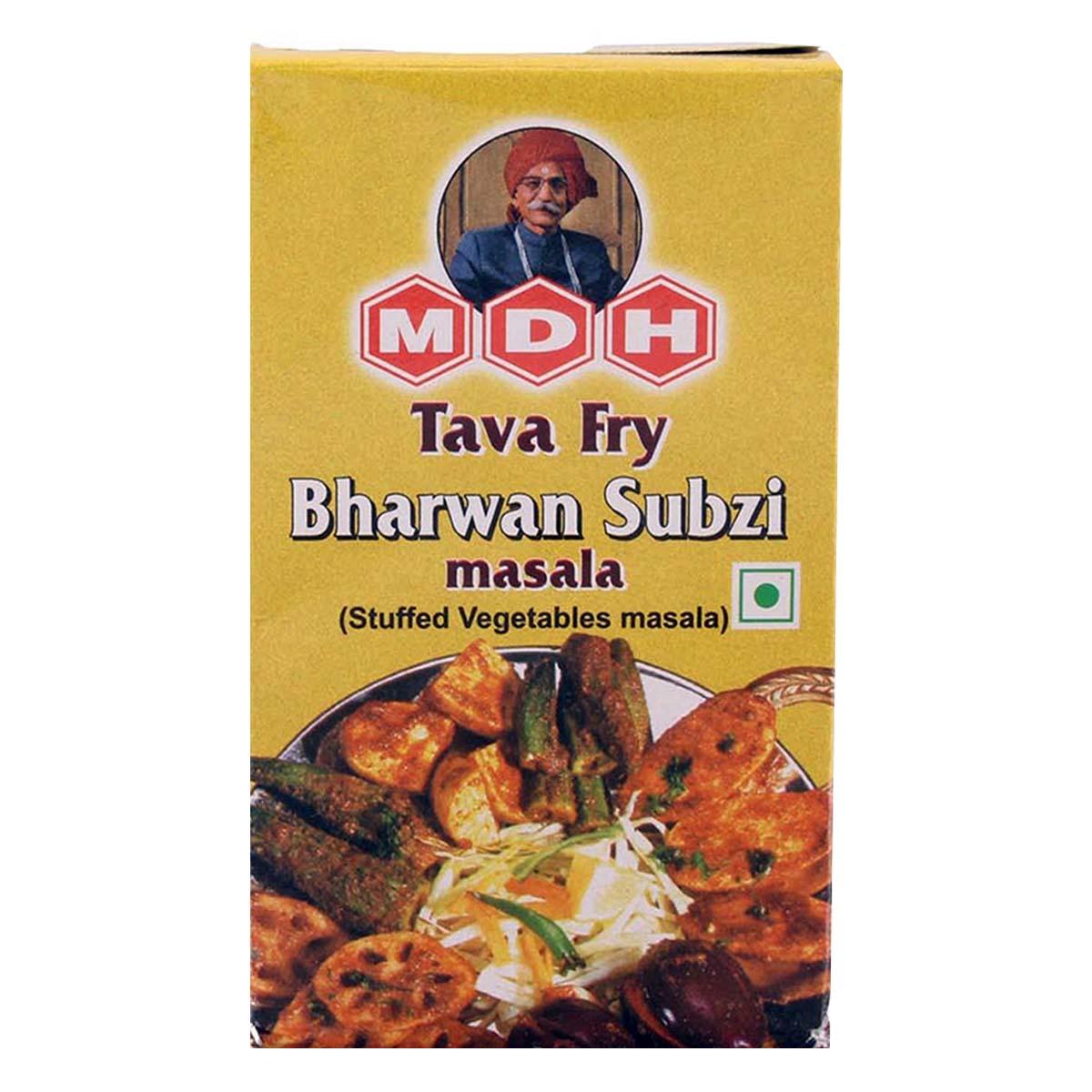 Buy MDH Tava Fry Bharwan Subzi Masala (Stuffed Vegetables Masala) - 100 gm