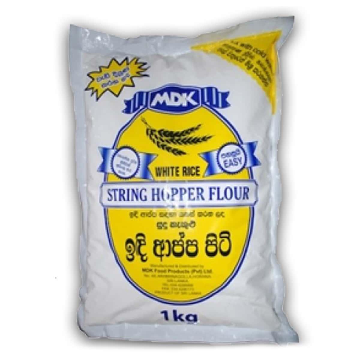 Buy MDK String Hoppers Flour (White Rice) - 1 kg
