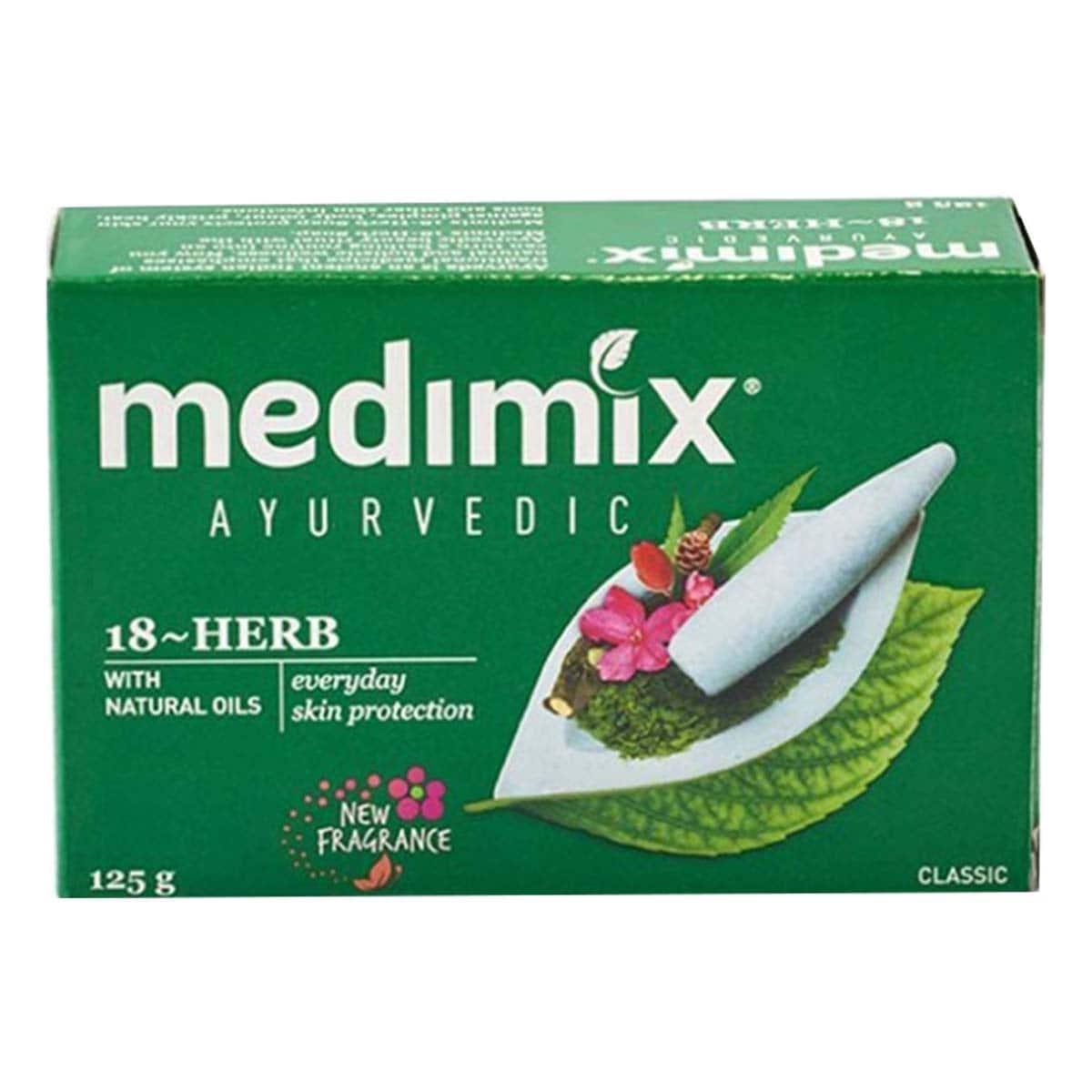 Buy Medimix Ayurvedic Classic Soap with 18 Herbs - 125 gm