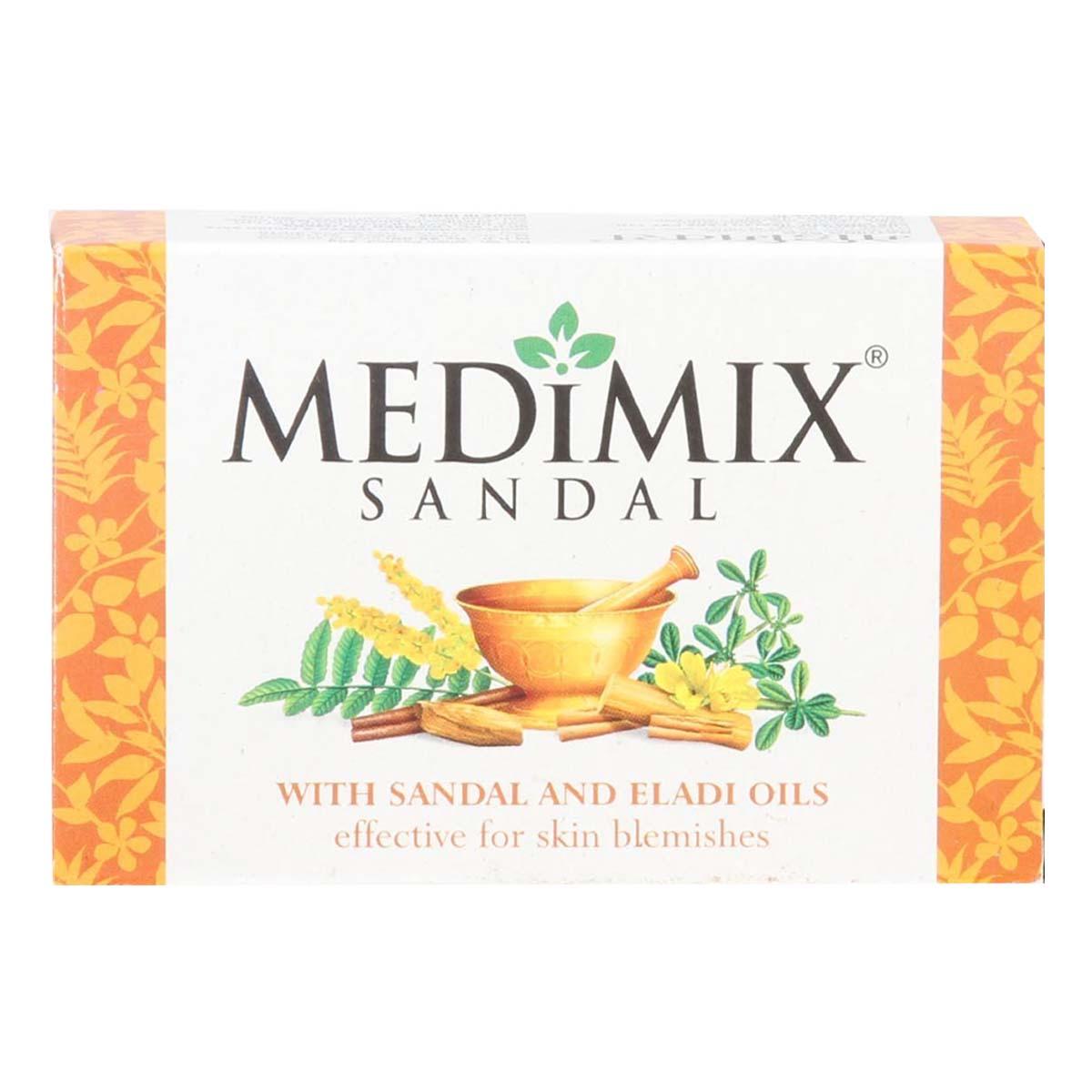 Buy Medimix Ayurvedic Sandal Soap with Sandal and Eladi Oils - 125 gm