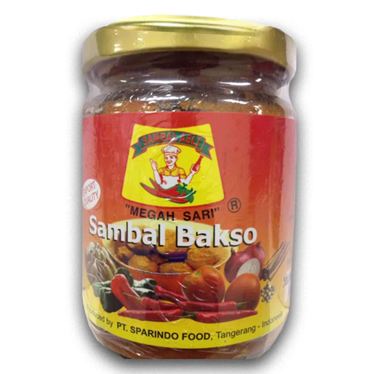 Buy Megah Sari Sambal Bakso - 250 gm