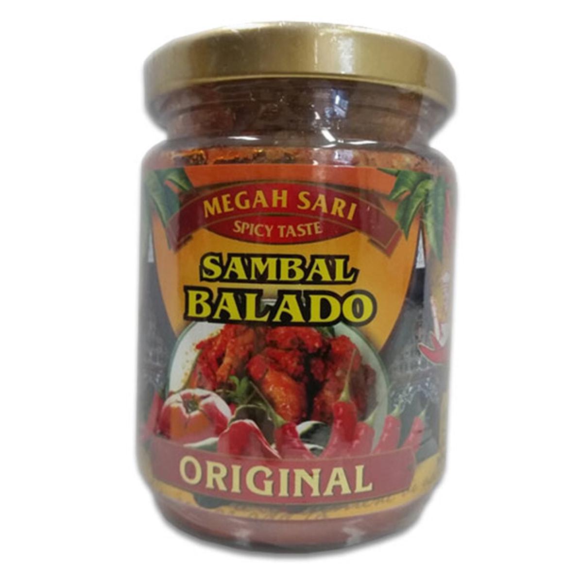 Buy Megah Sari Sambal Balado (Original) - 250 ml
