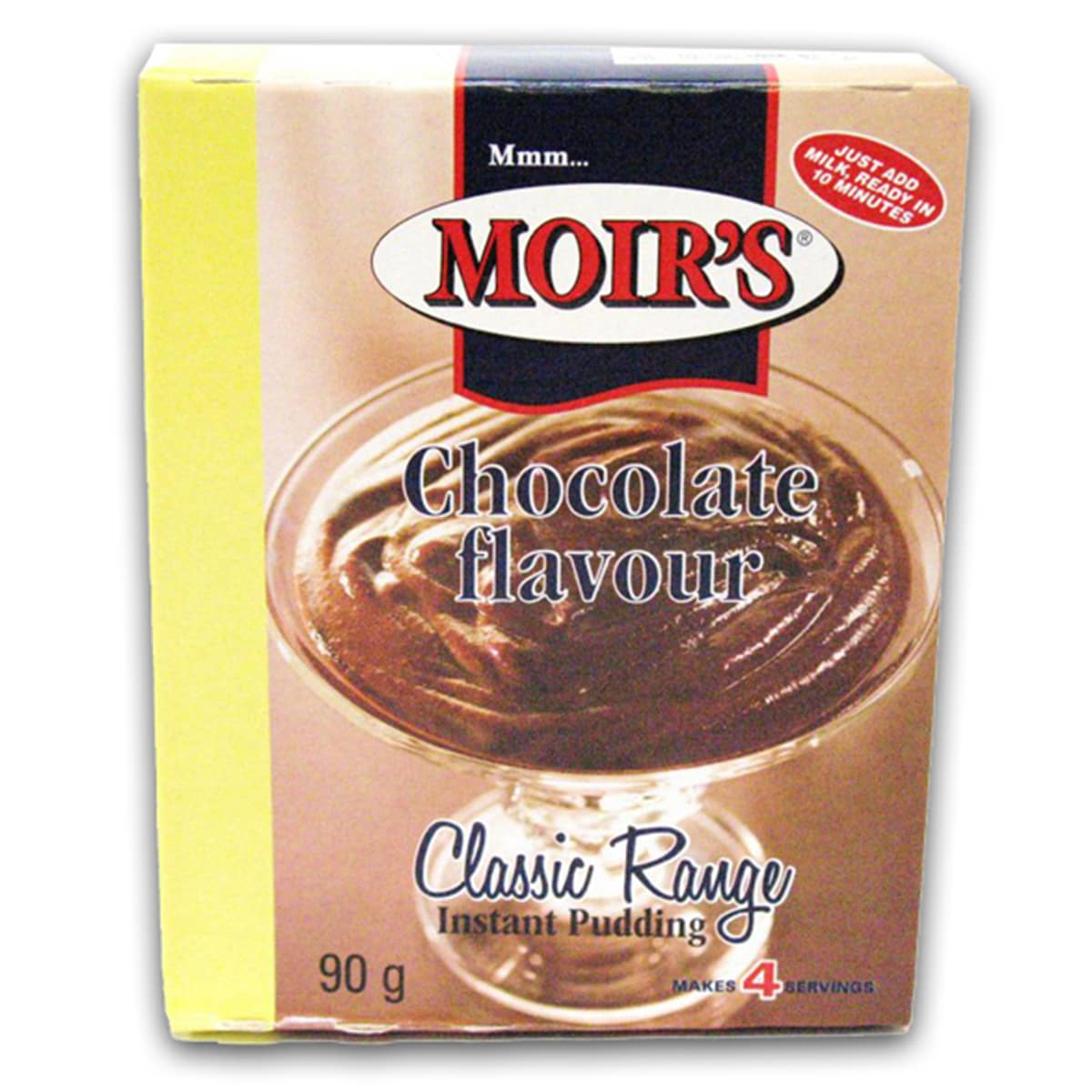 Buy Moirs Chocolate Flavour Instant Pudding - 90 gm