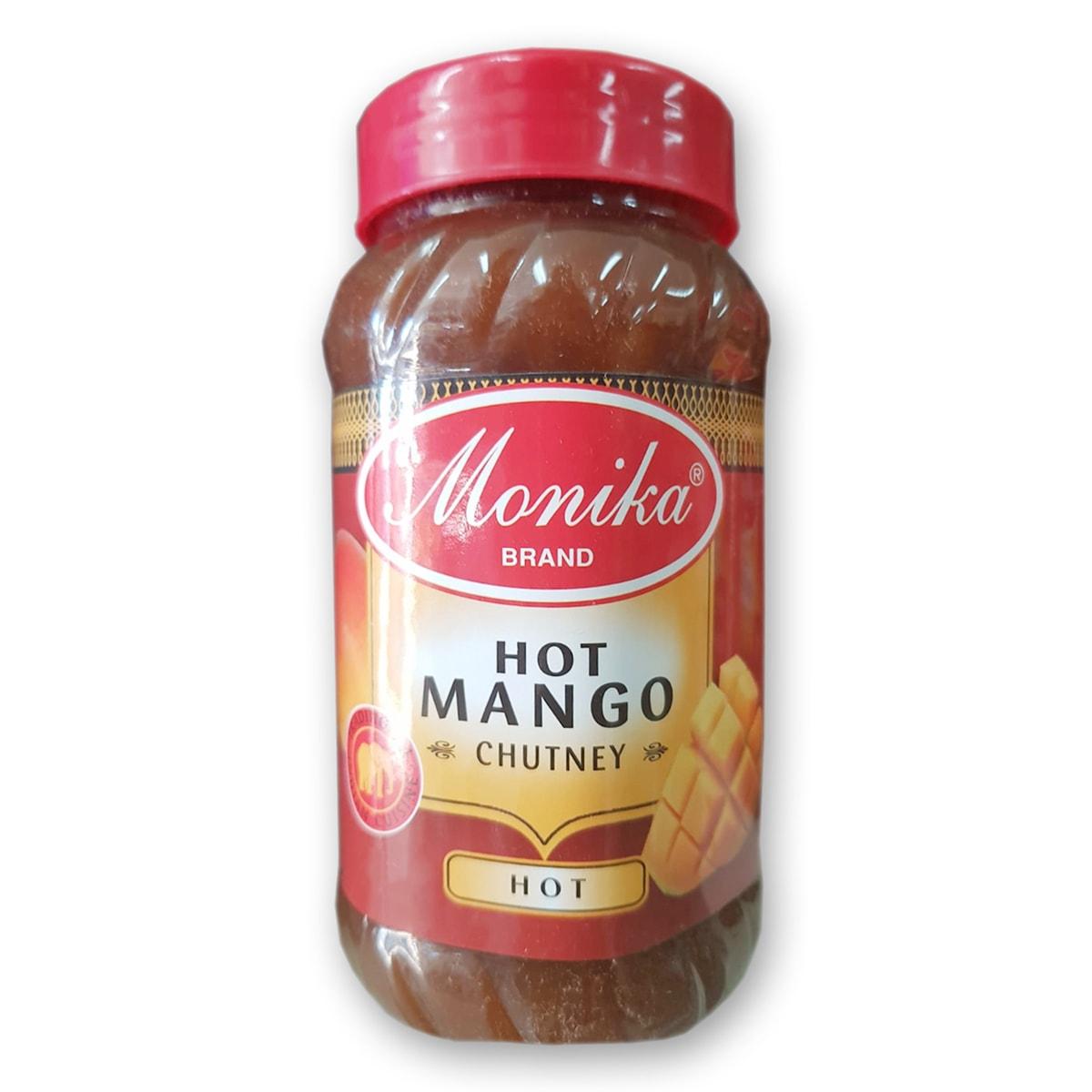 Buy Monika Hot Mango Chutney (Hot) - 570 gm