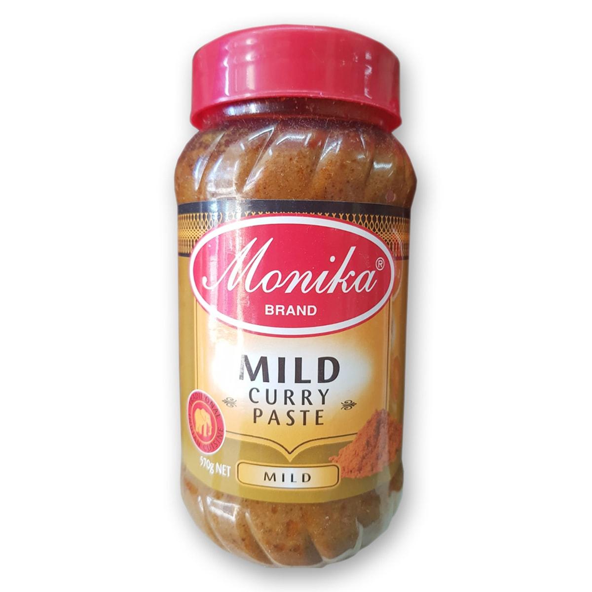 Buy Monika Mild Curry Paste (Mild) - 570 gm