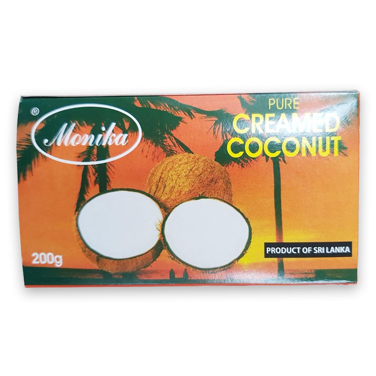 Buy Monika Pure Creamed Coconut - 200 gm