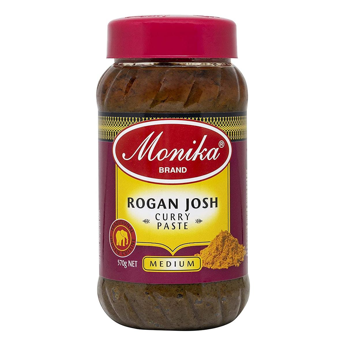 Buy Monika Rogan Josh Curry Paste - 570 gm