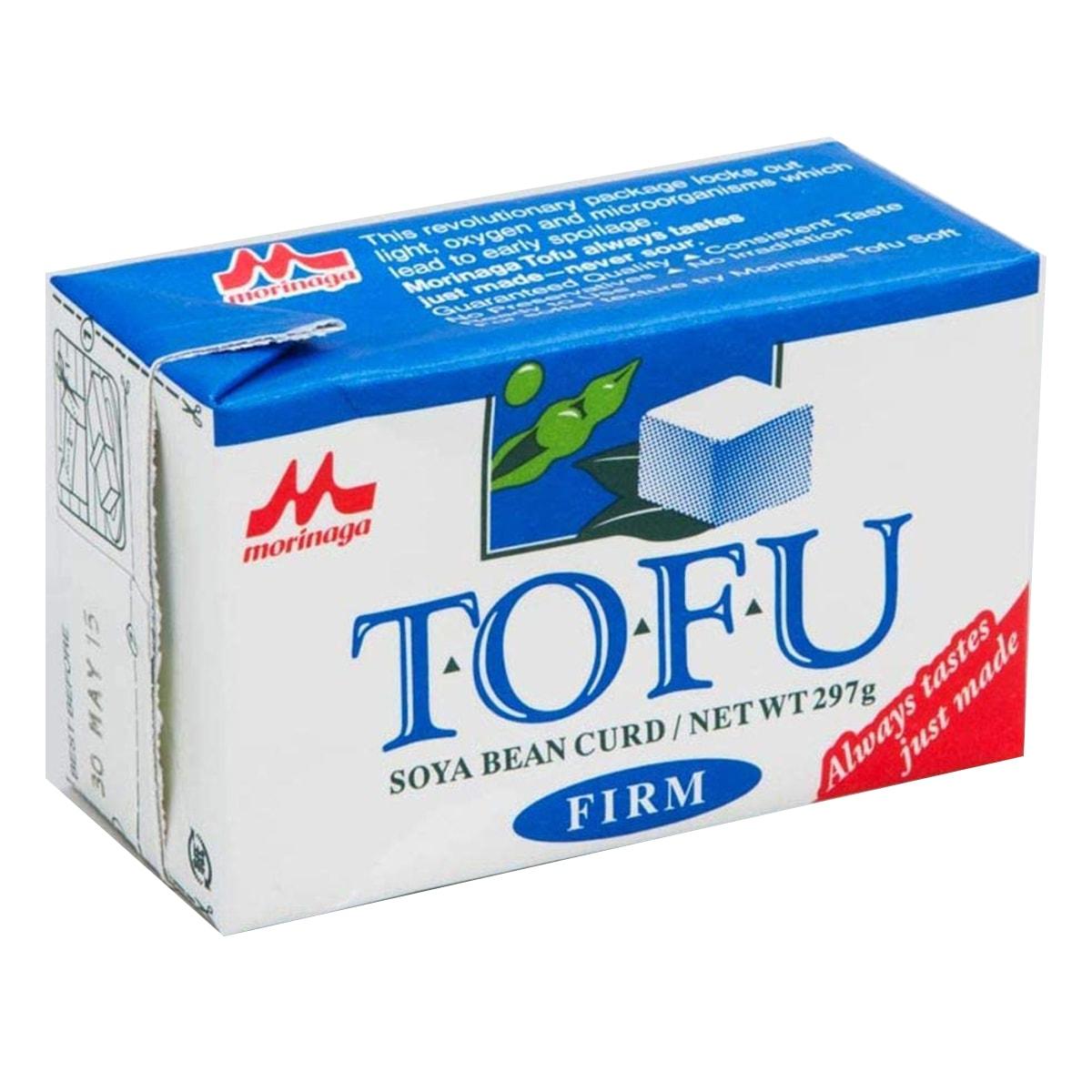Buy Morinaga Tofu Soya Bean Curd Firm - 297 gm