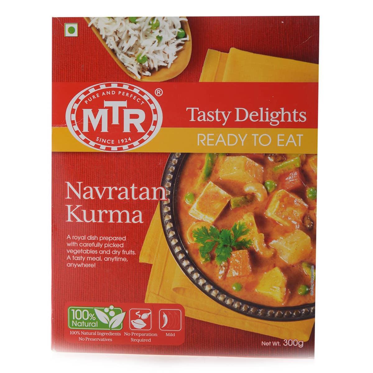 Buy MTR Navratan Kurma (Ready to Eat) - 300 gm
