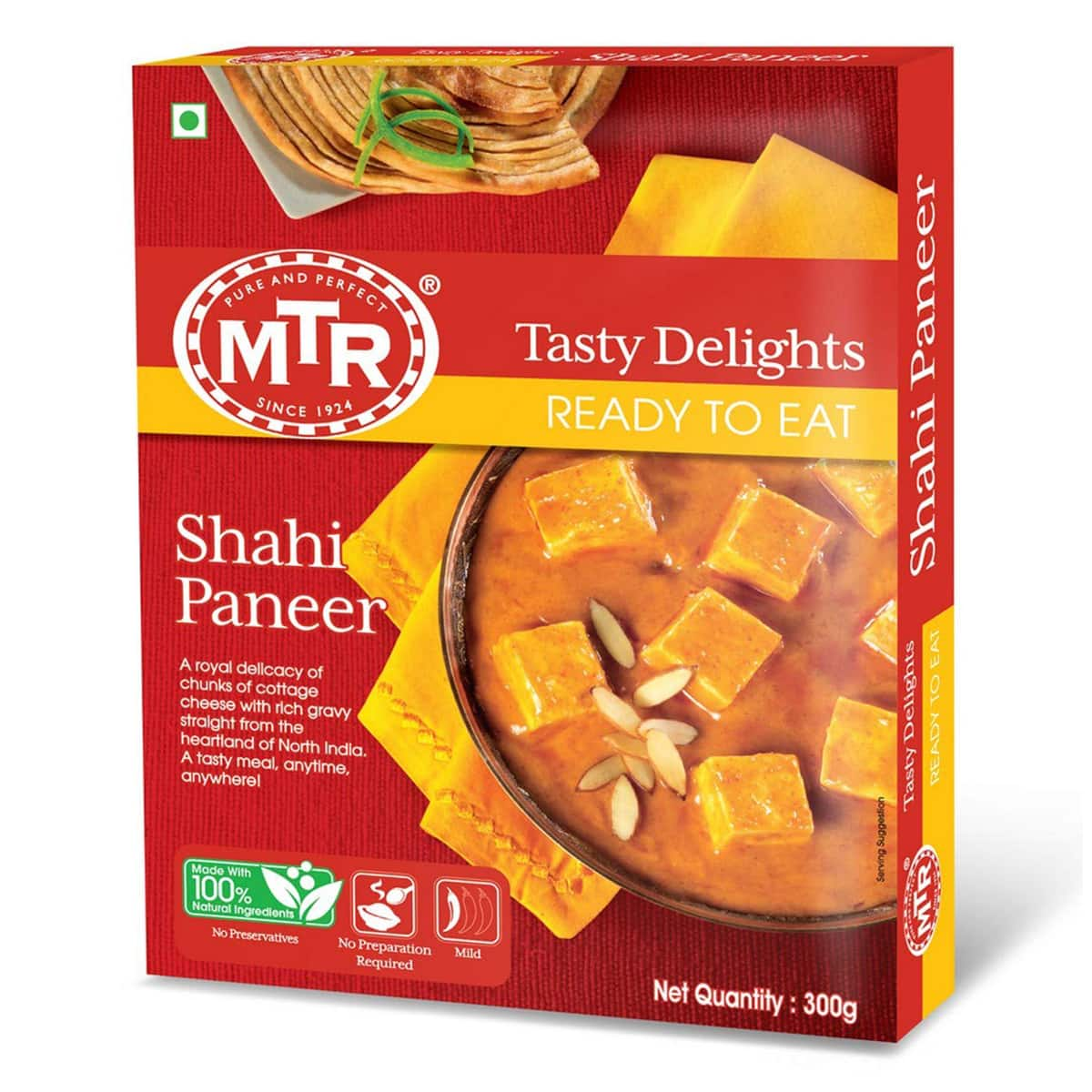 Buy MTR Shahi Paneer (Ready to Eat) - 300 gm