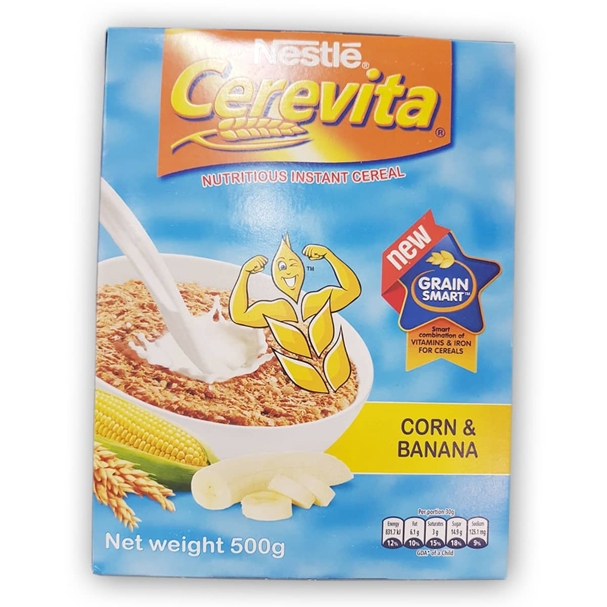 Buy Nestle Cerevita Instant Cereal Corn and Banana - 500 gm