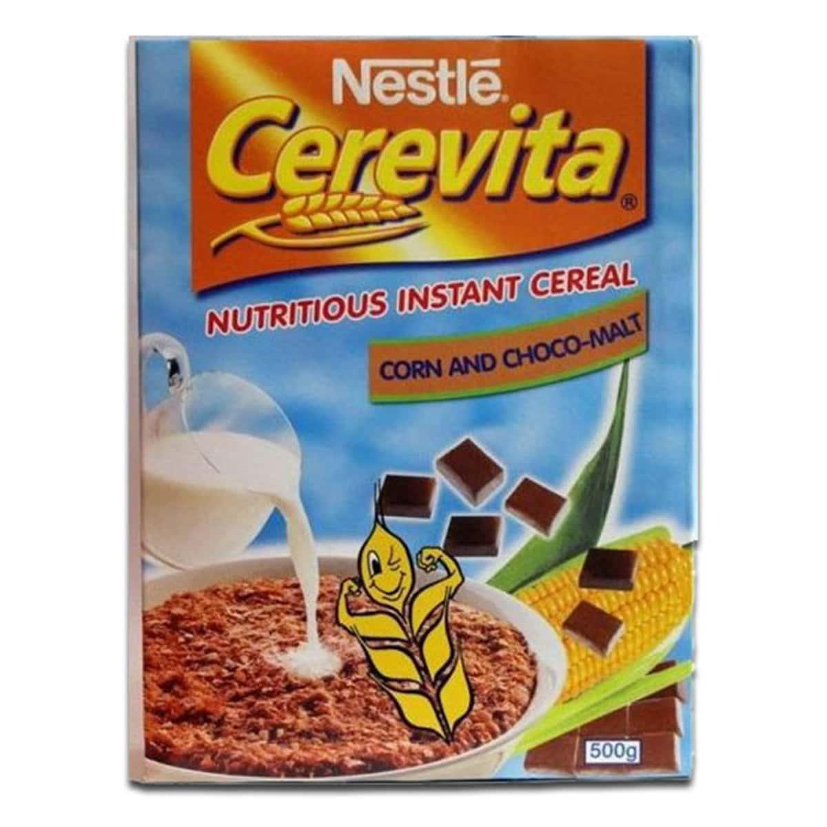 Buy Nestle Cerevita Instant Cereal Corn and Choco Malt - 500 gm