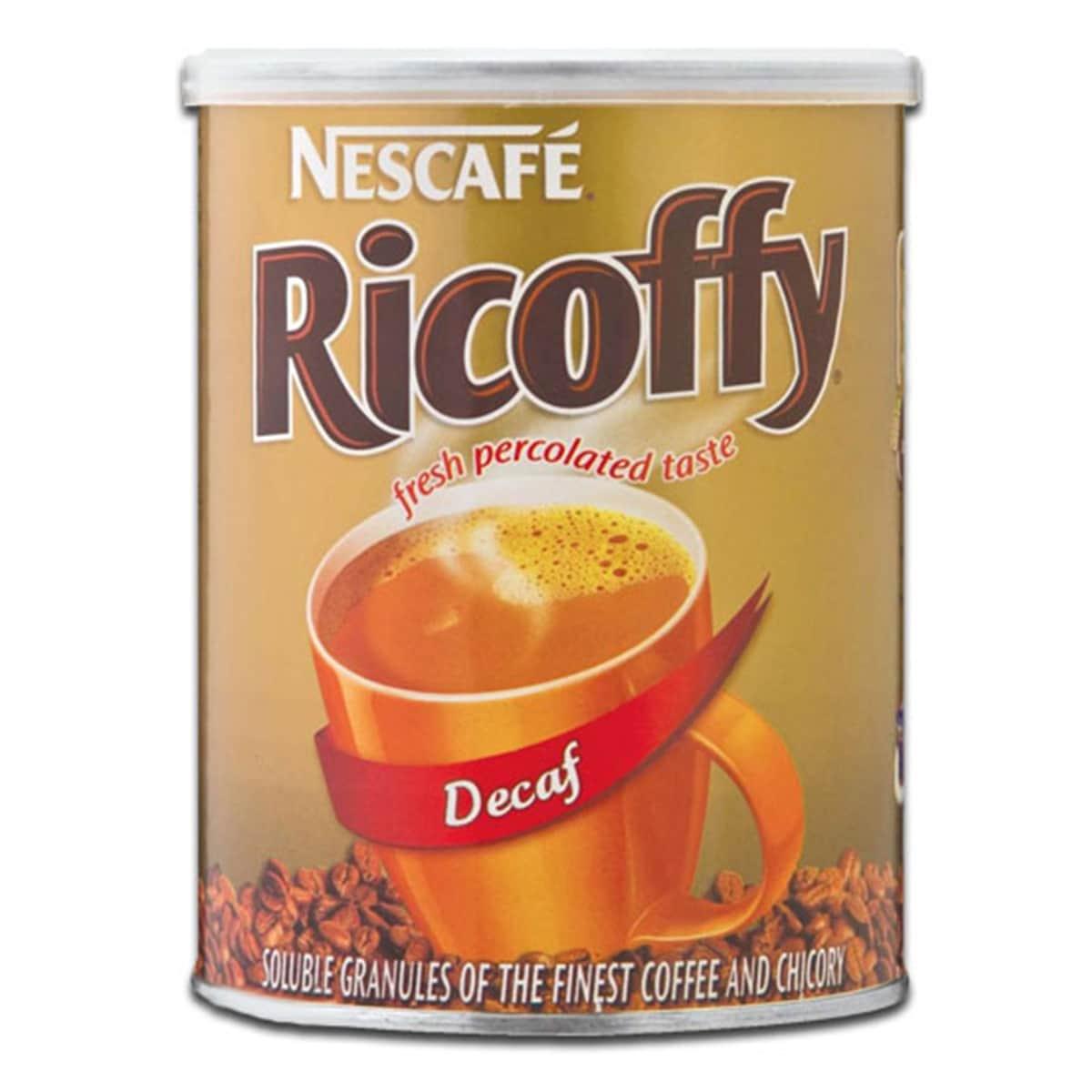 Buy Nestle Nescafe Ricoffy Decaf (Fresh Percolated Taste) - 250 gm