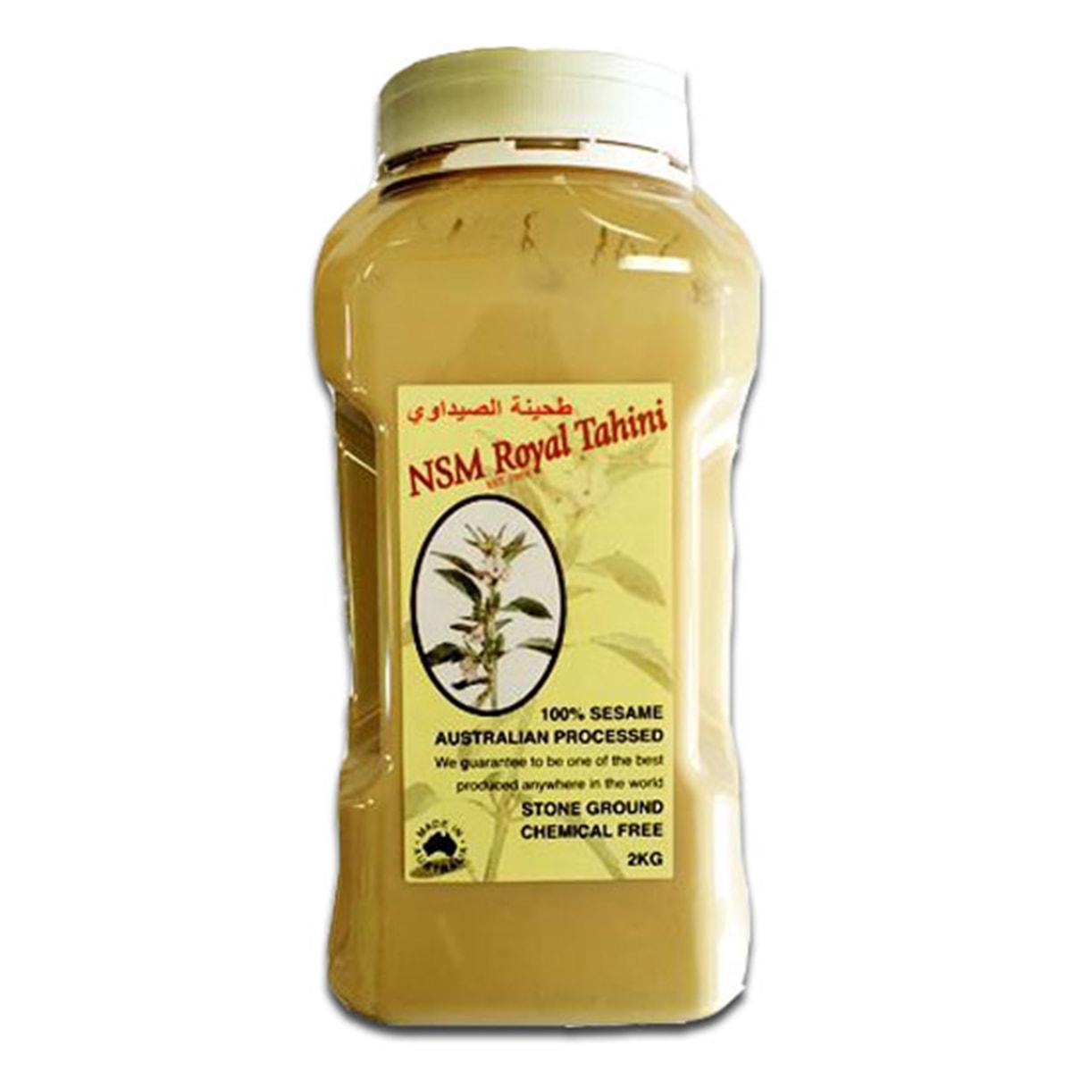 Buy NSM Royal Tahini (100% Sesame Australian Processed) - 2 kg