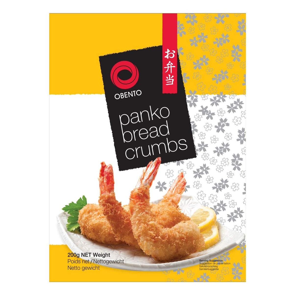 Buy Obento Panko Bread Crumbs - 200 gm