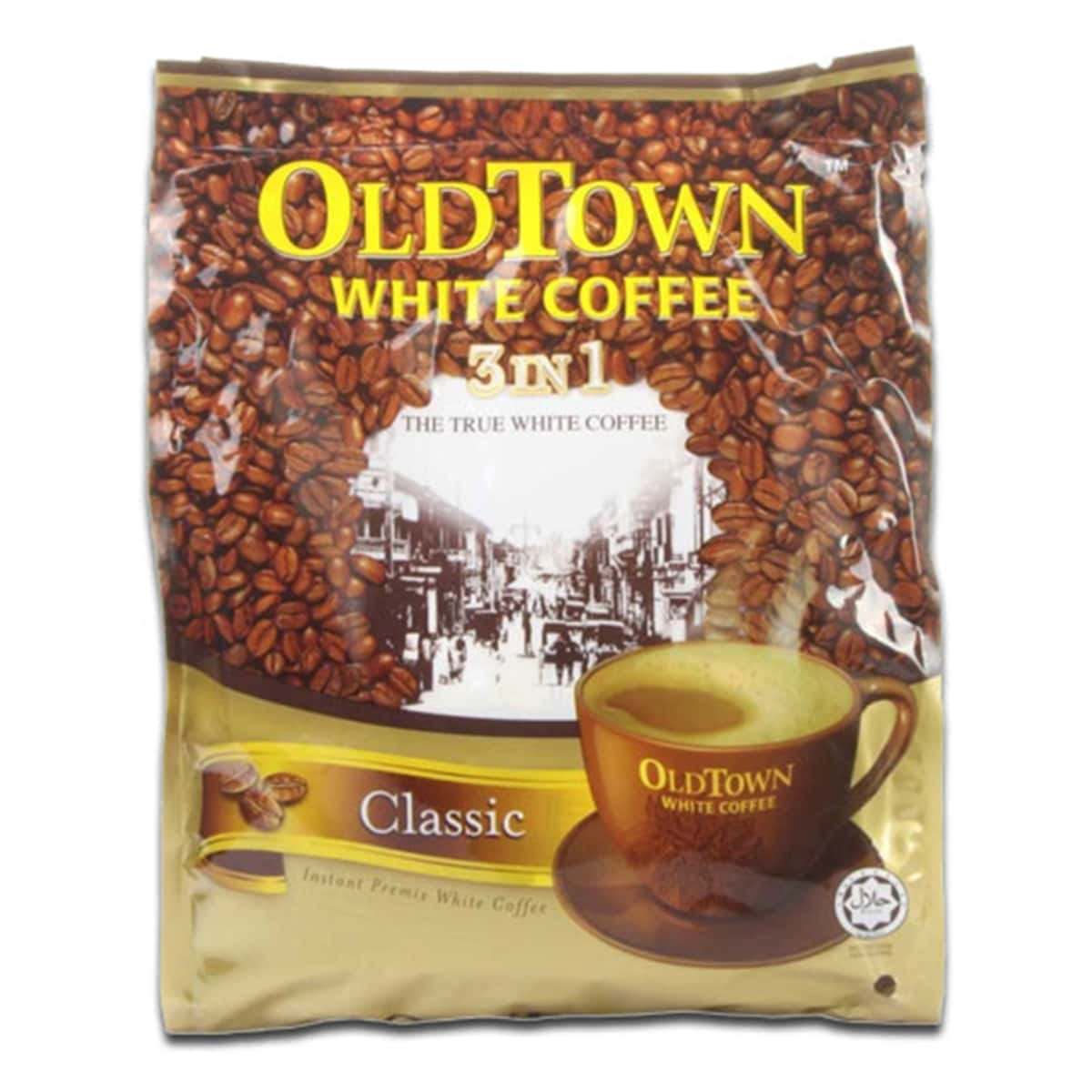 Buy Old Town White Coffee 3 in 1 (Classic Flavour) 40g X 15 Sachets - 600 gm