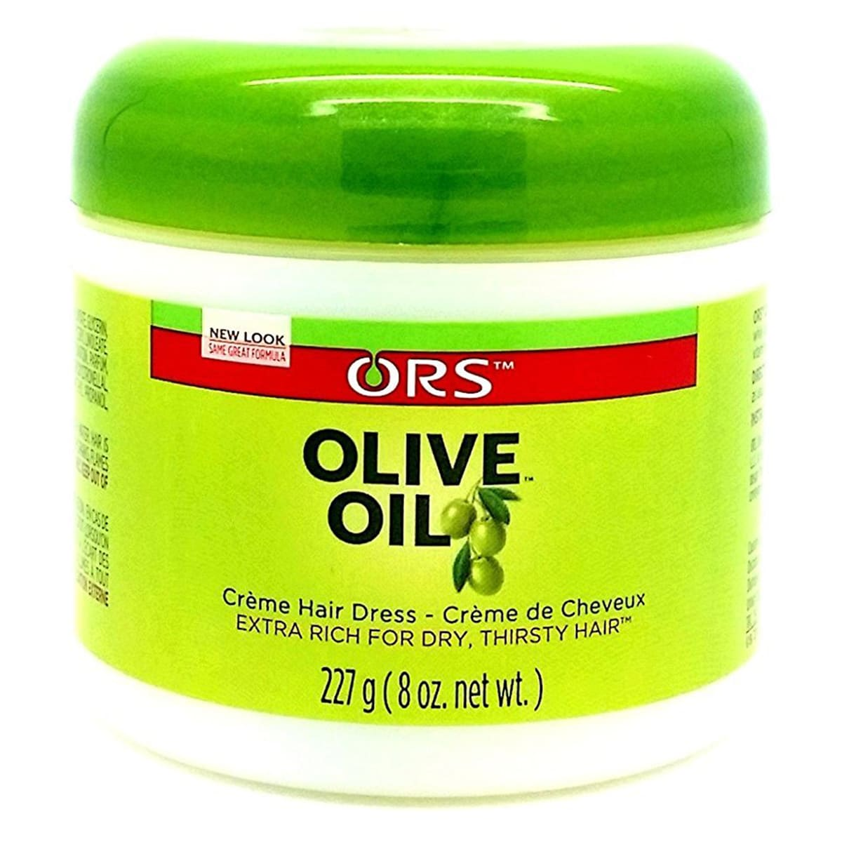 Buy Organic Root Stimulator (ORS) Olive Oil Extra Rich for Dry Thirsty Hair - 227 gm