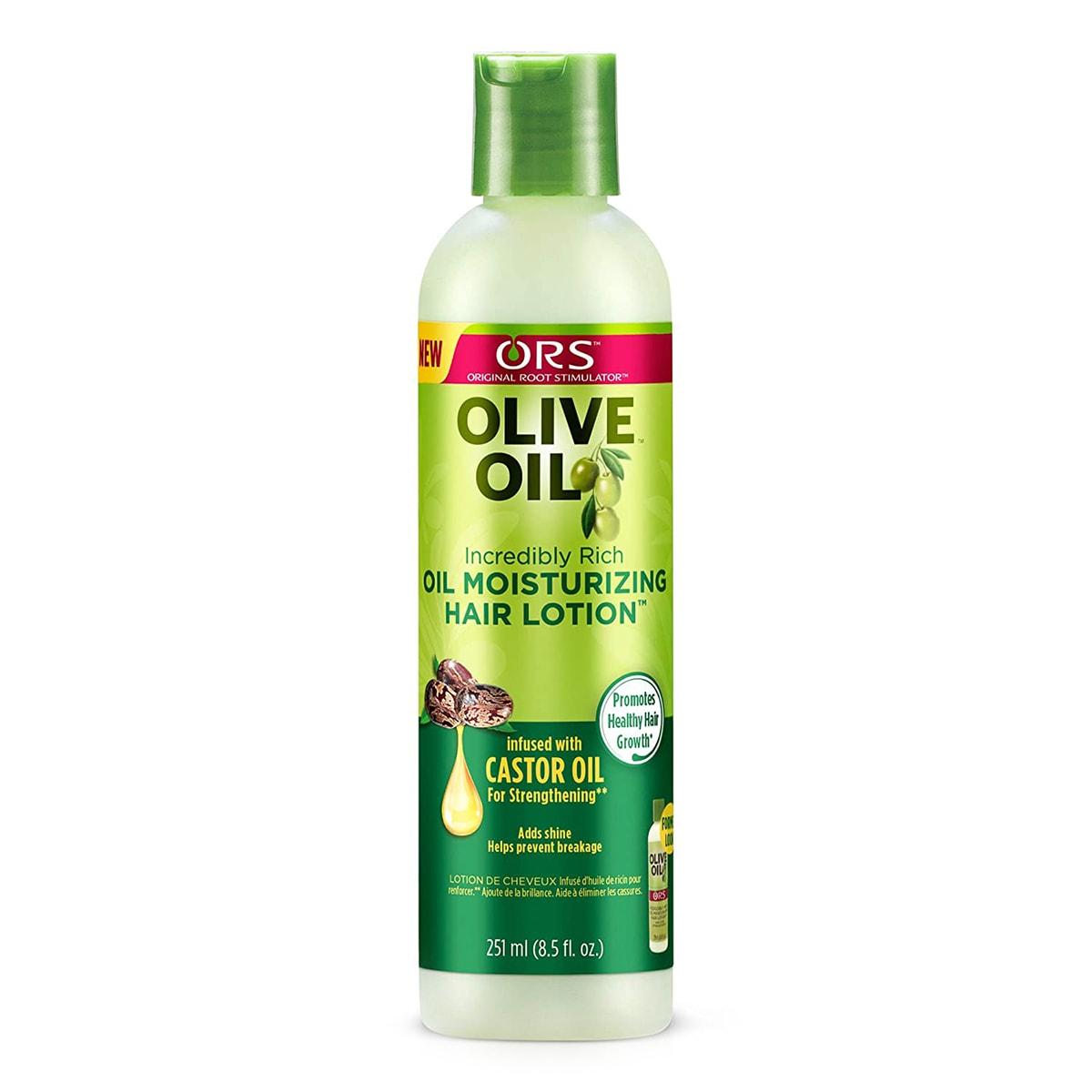 Buy Organic Root Stimulator (ORS) Olive Oil Moisturizing Hair Lotion - 251 ml