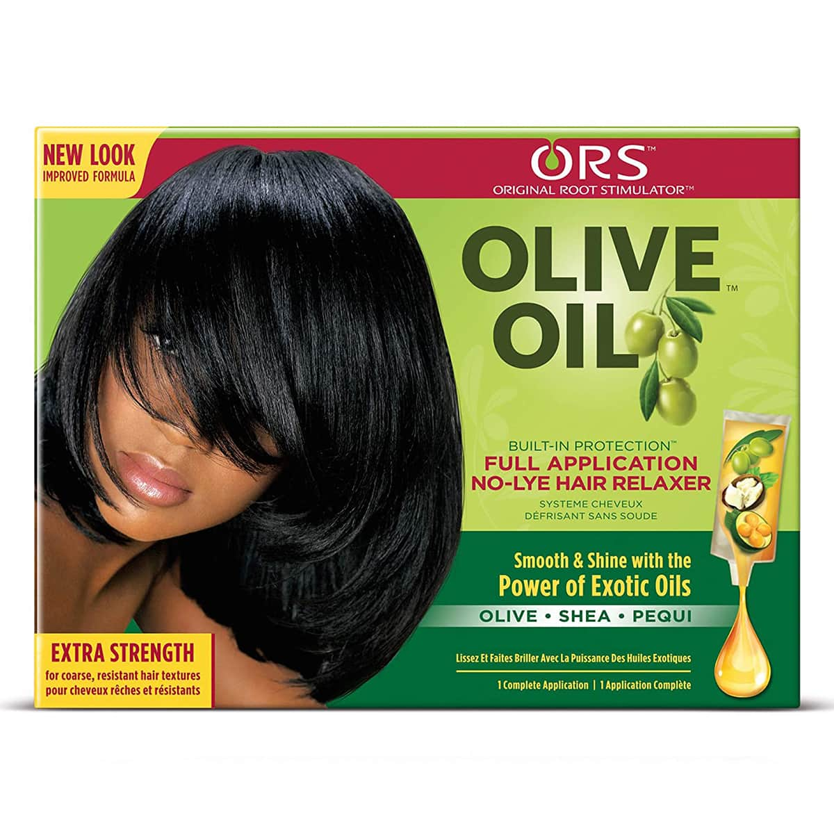 Buy Organic Root Stimulator (ORS) Olive Oil No-lye Hair Relaxer System Kit (Extra Strength)