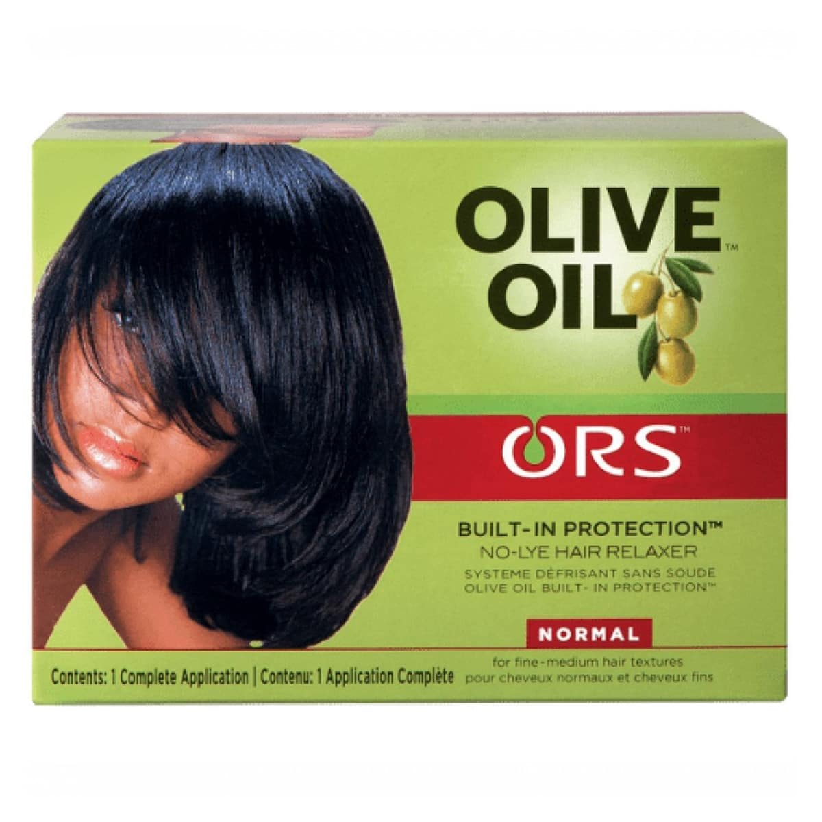Buy Organic Root Stimulator (ORS) Olive Oil No-lye Hair Relaxer System Kit (Normal)