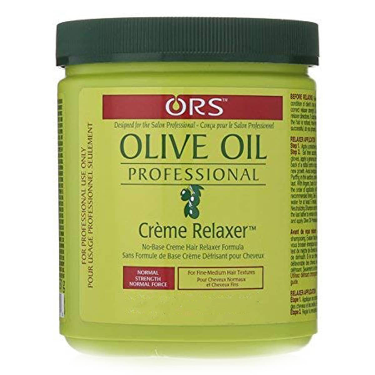 Buy Organic Root Stimulator (ORS) Olive Oil Professional Crème Relaxer Normal - 530 gm