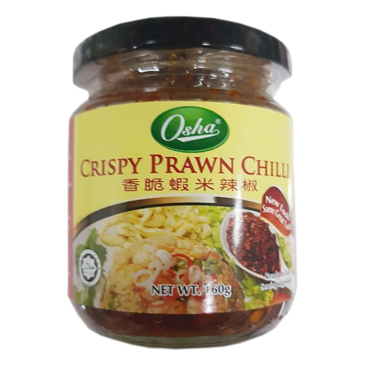 Buy Osha Crispy Prawn Chilli - 160 gm