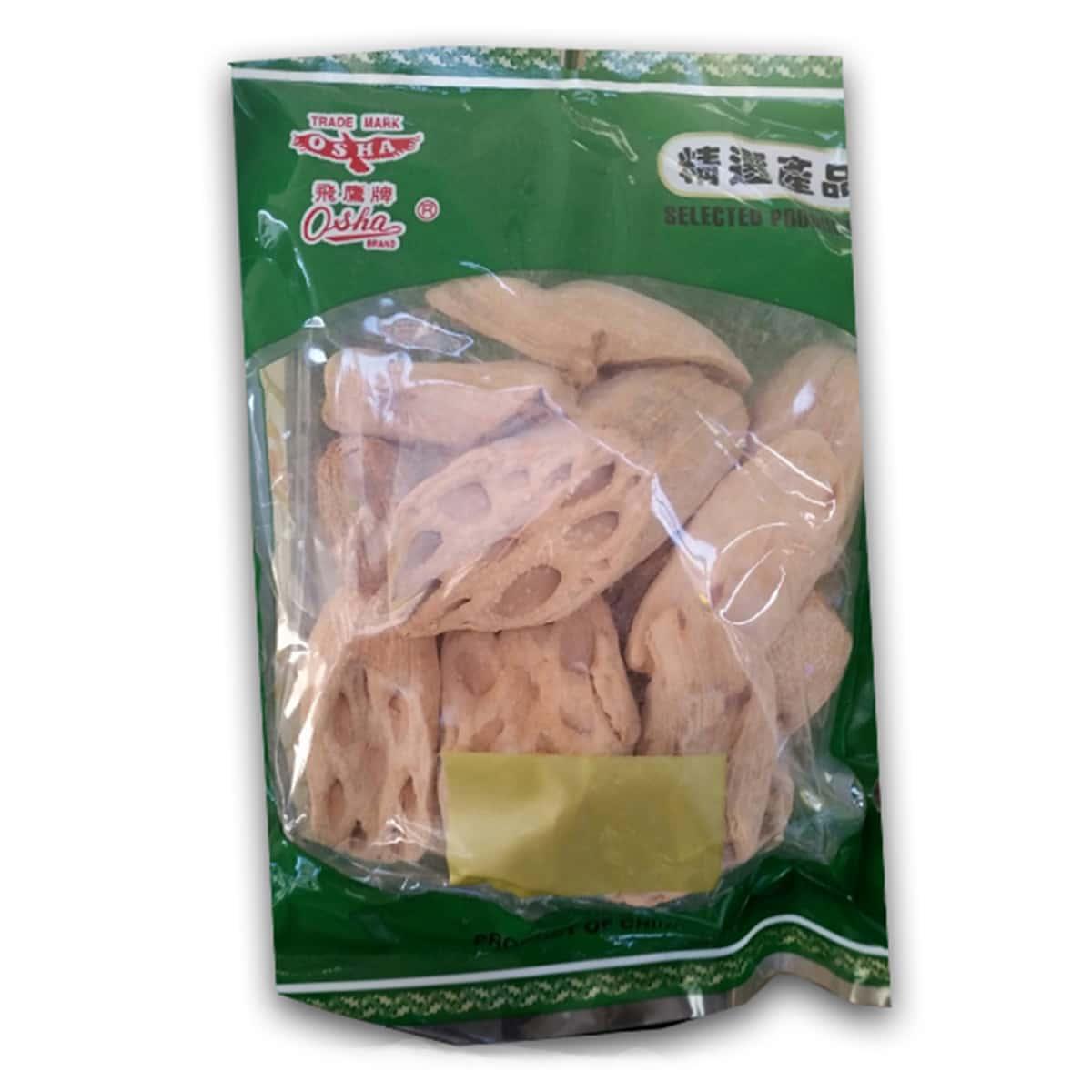 Buy Osha Dried Lotus Root Sliced - 200 gm