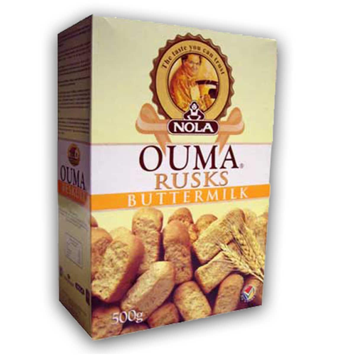 Buy Ouma Buttermilk Rusks - 500 gm