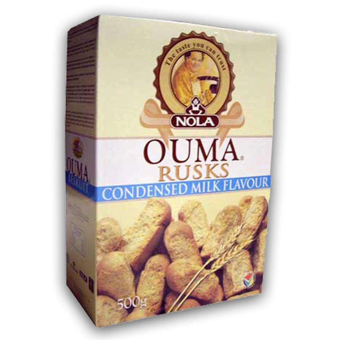 Buy Ouma Condensed Milk Rusks - 500 gm
