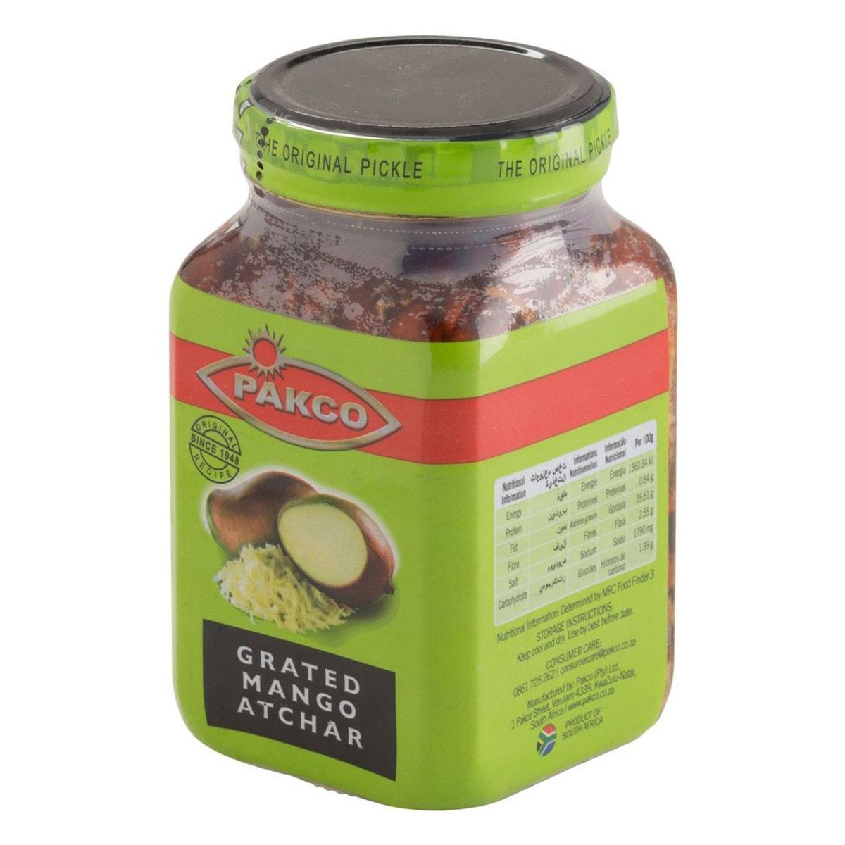 Buy Pakco Mango Atchar Grated - 400 gm