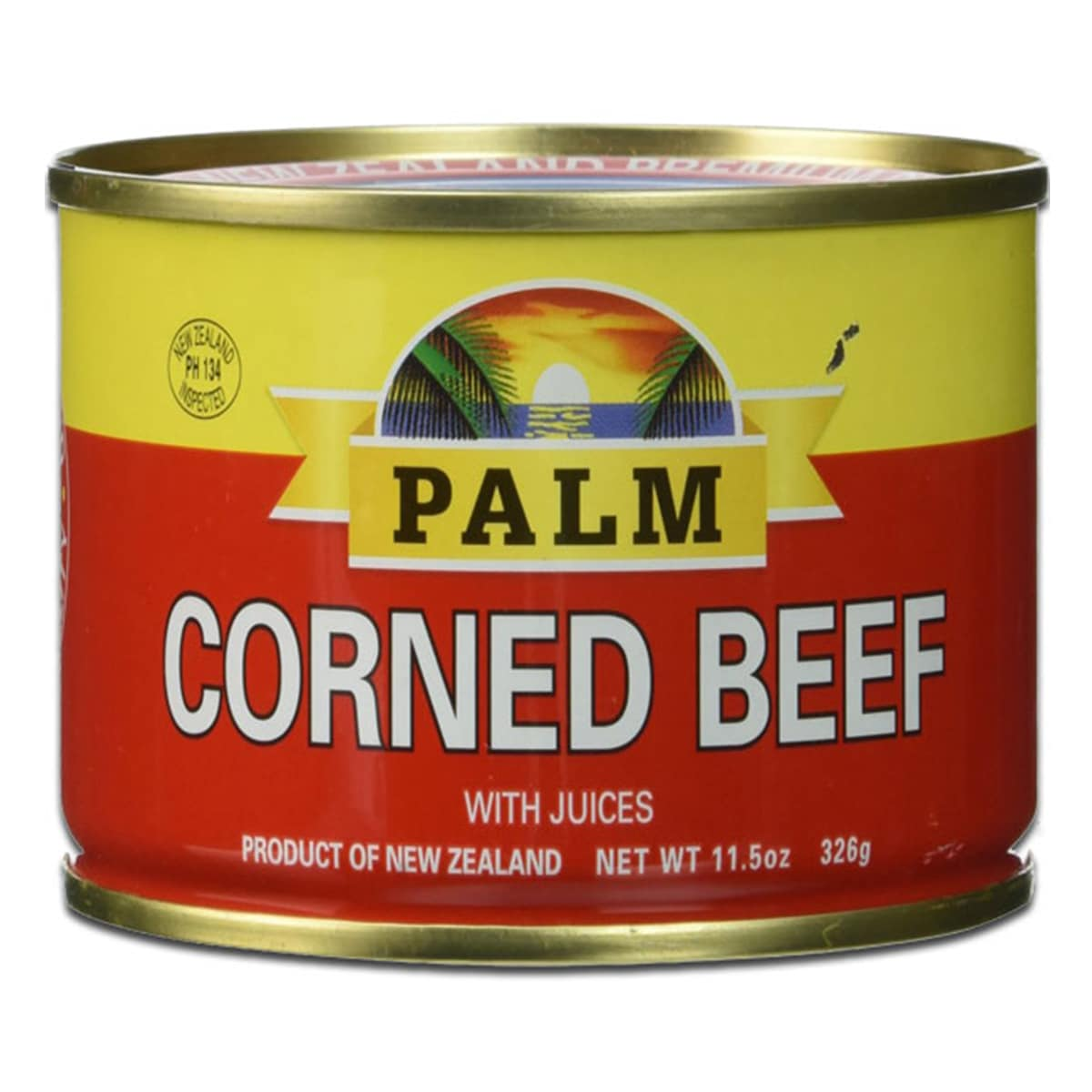 Buy Palm Corned Beef with Juices - 326 gm