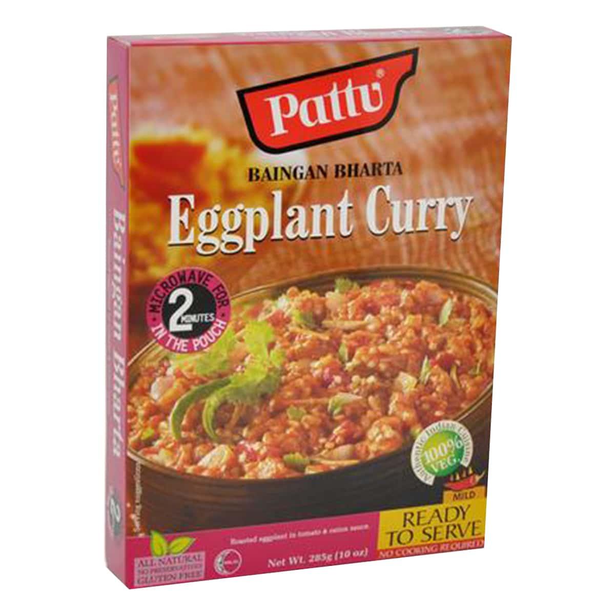 Buy Pattu Baingan Bharta (Eggplant Curry) Ready to Serve - 285 gm
