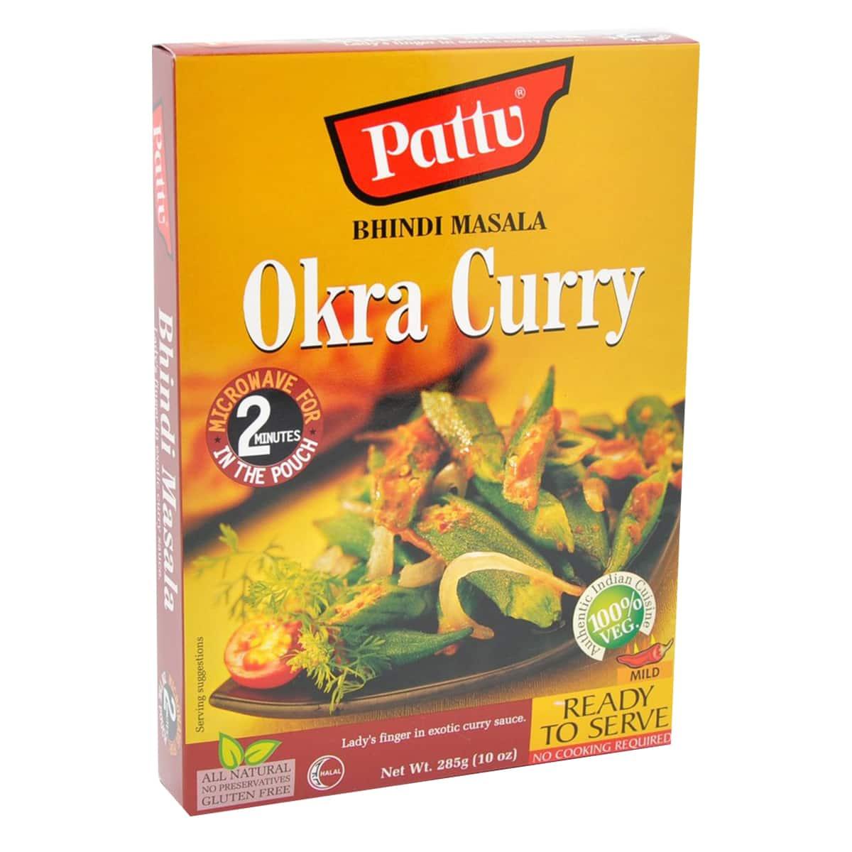 Buy Pattu Bhindi Masala (Okra Curry) Ready to Serve - 285 gm