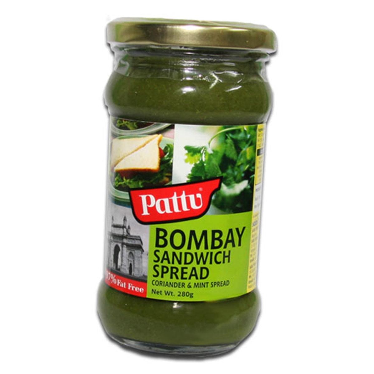 Buy Pattu Bombay Sandwich Spread - 280 gm