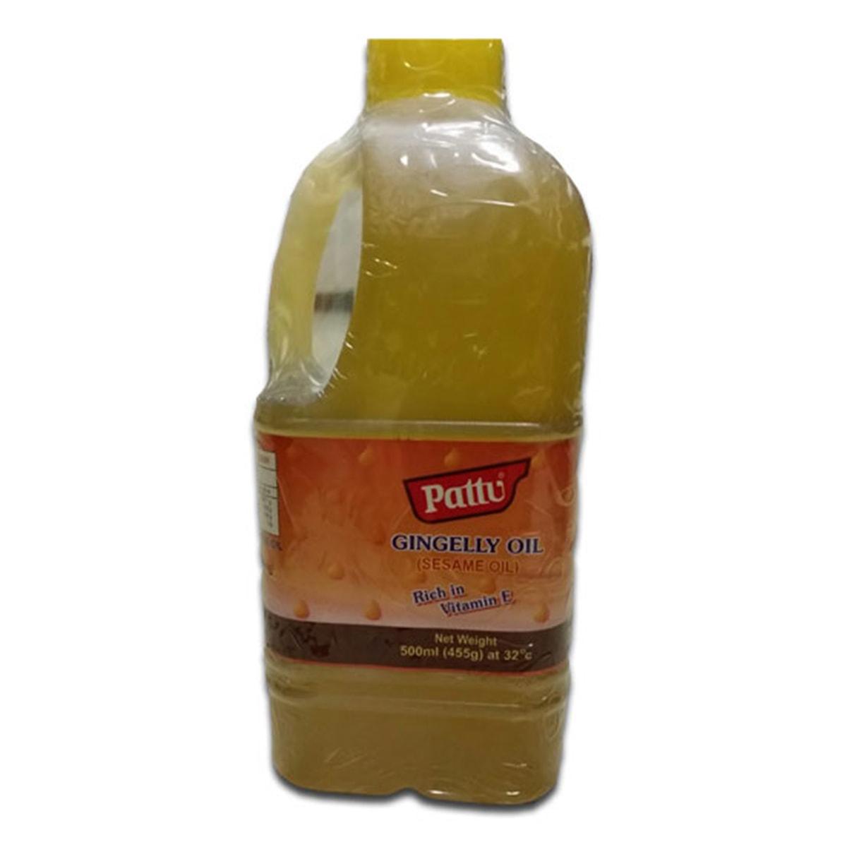 Buy Pattu Gingelly Oil (Sesame Cooking Oil) - 500 ml