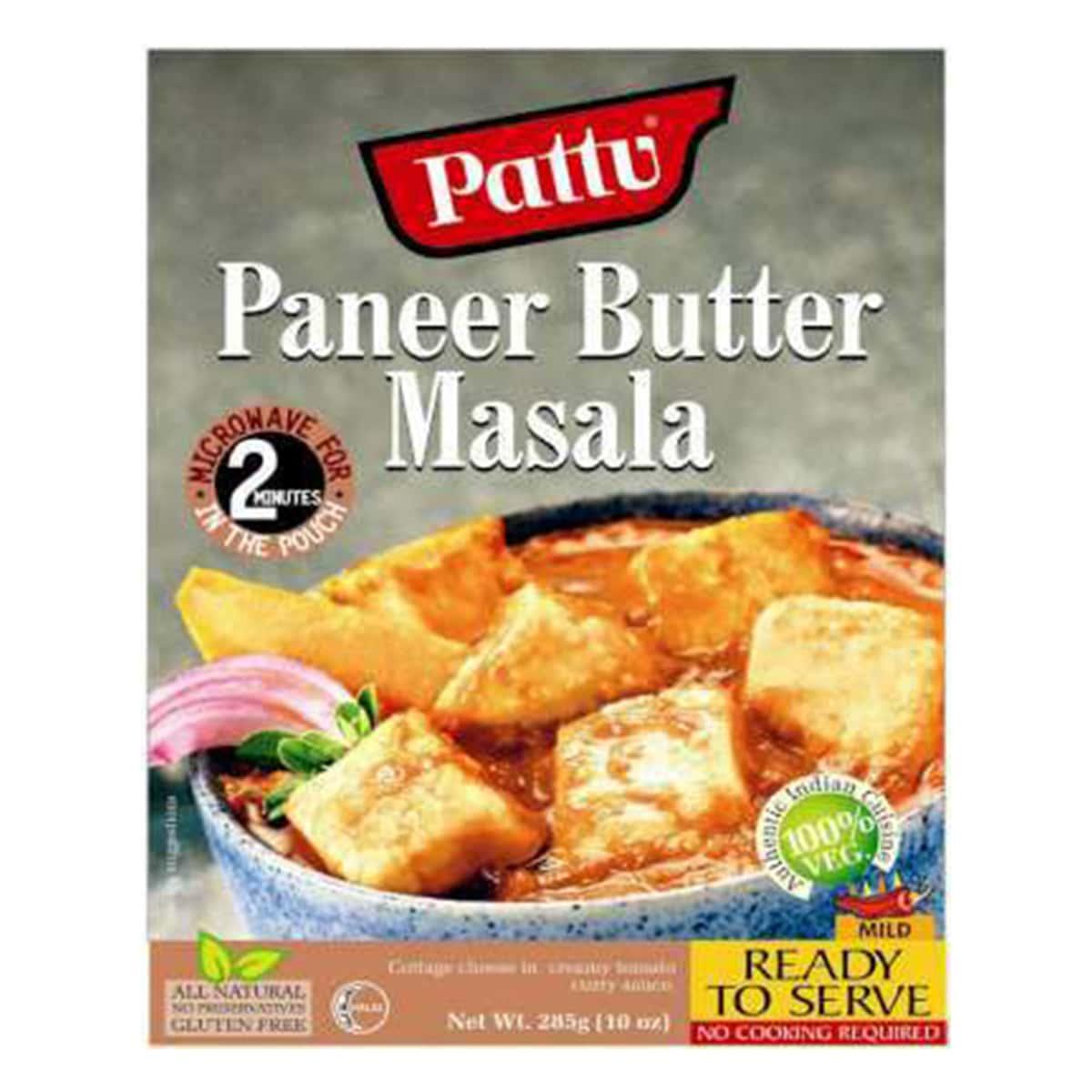 Buy Pattu Paneer Butter Masala Ready to Serve - 285 gm
