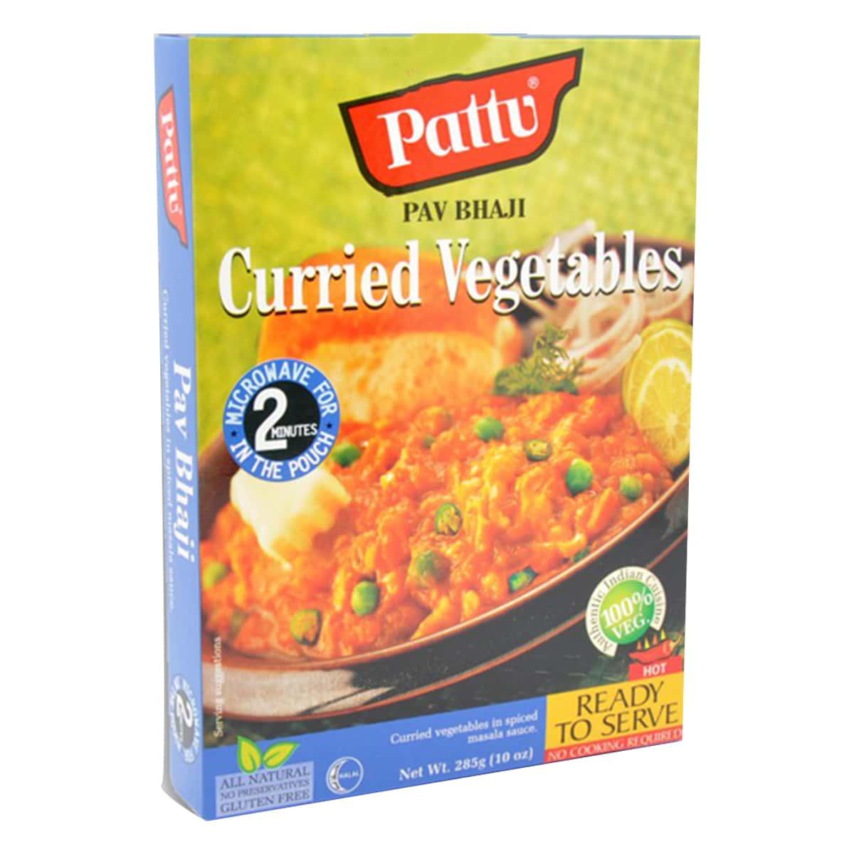 Buy Pattu Pav Bhaji (Curried Vegetables) Ready to Serve - 285 gm