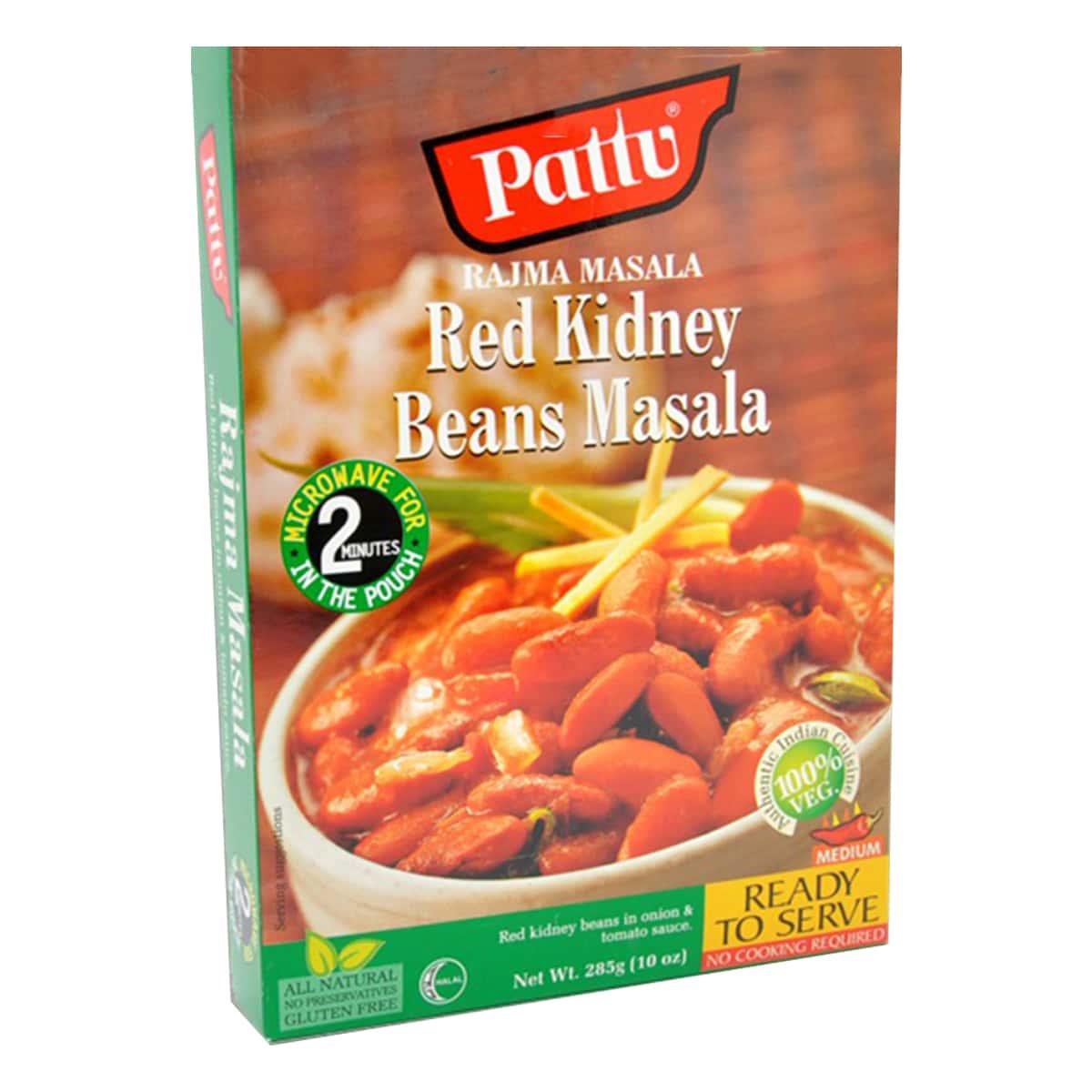 Buy Pattu Rajma Masala (Red Kidney Beans Masala) Ready to Serve - 285 gm