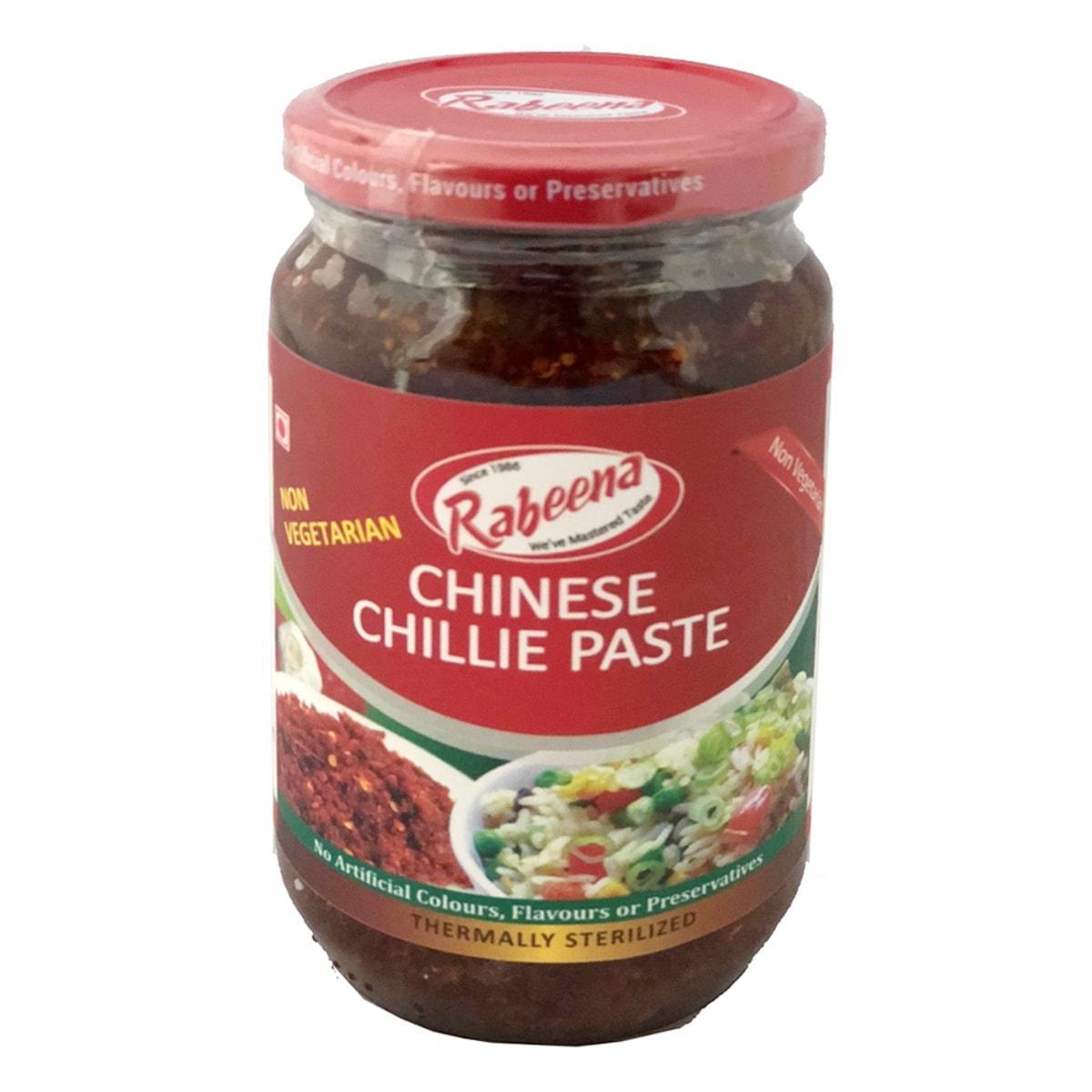 Buy Rabeena Chinese Chilli Paste (Non-vegetarian) - 350 gm