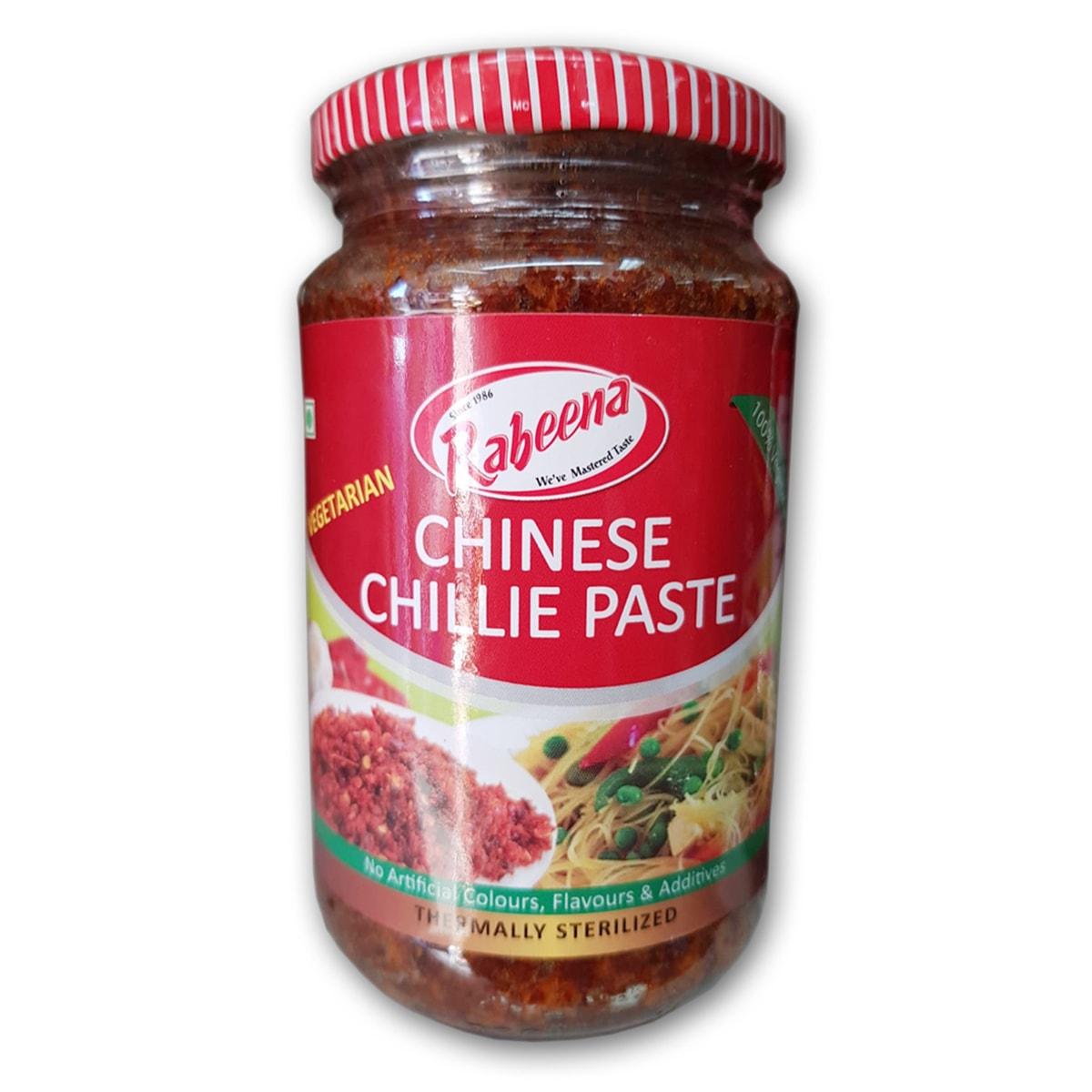 Buy Rabeena Chinese Chilli Paste (Vegetarian) - 480 gm