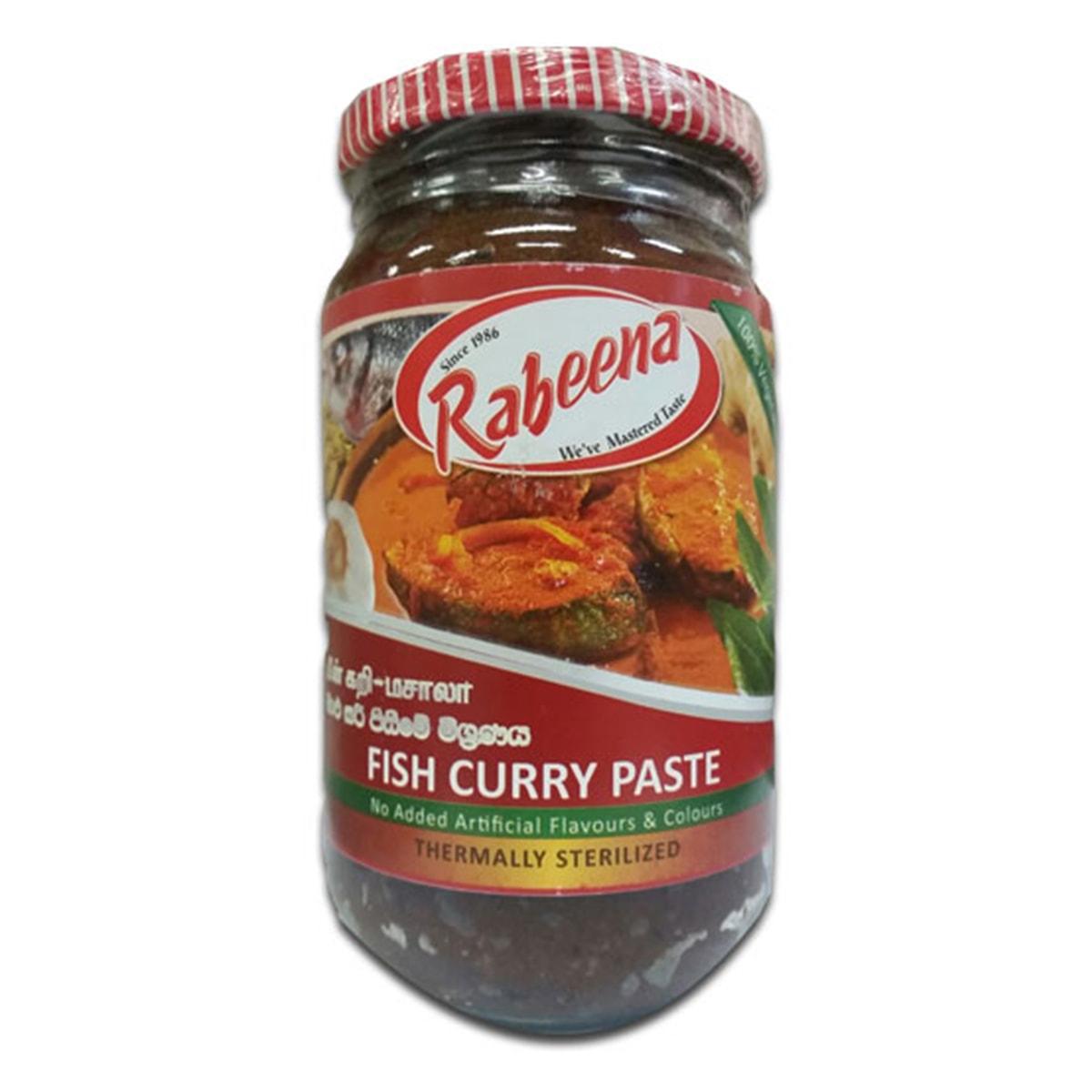 Buy Rabeena Fish Curry Paste - 380 gm