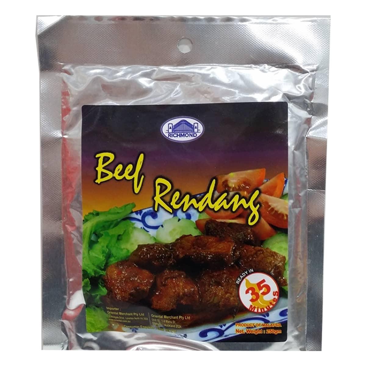 Buy Richmond Beef Rendang Paste - 250 gm