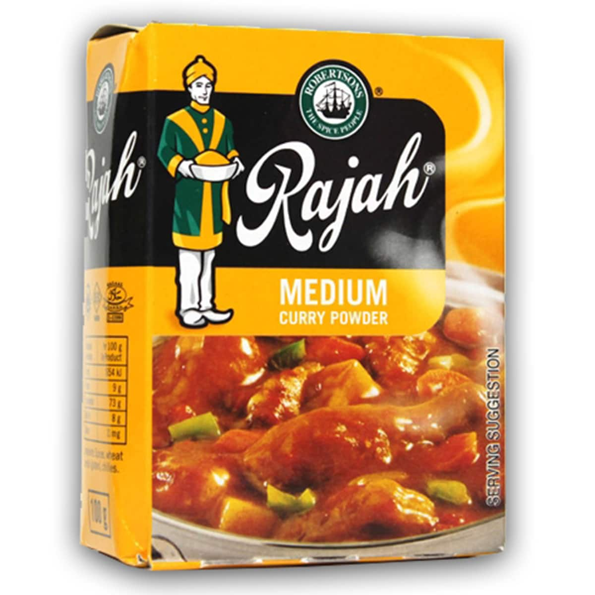 Buy Robertsons Rajah Curry Powder Medium - 100 gm