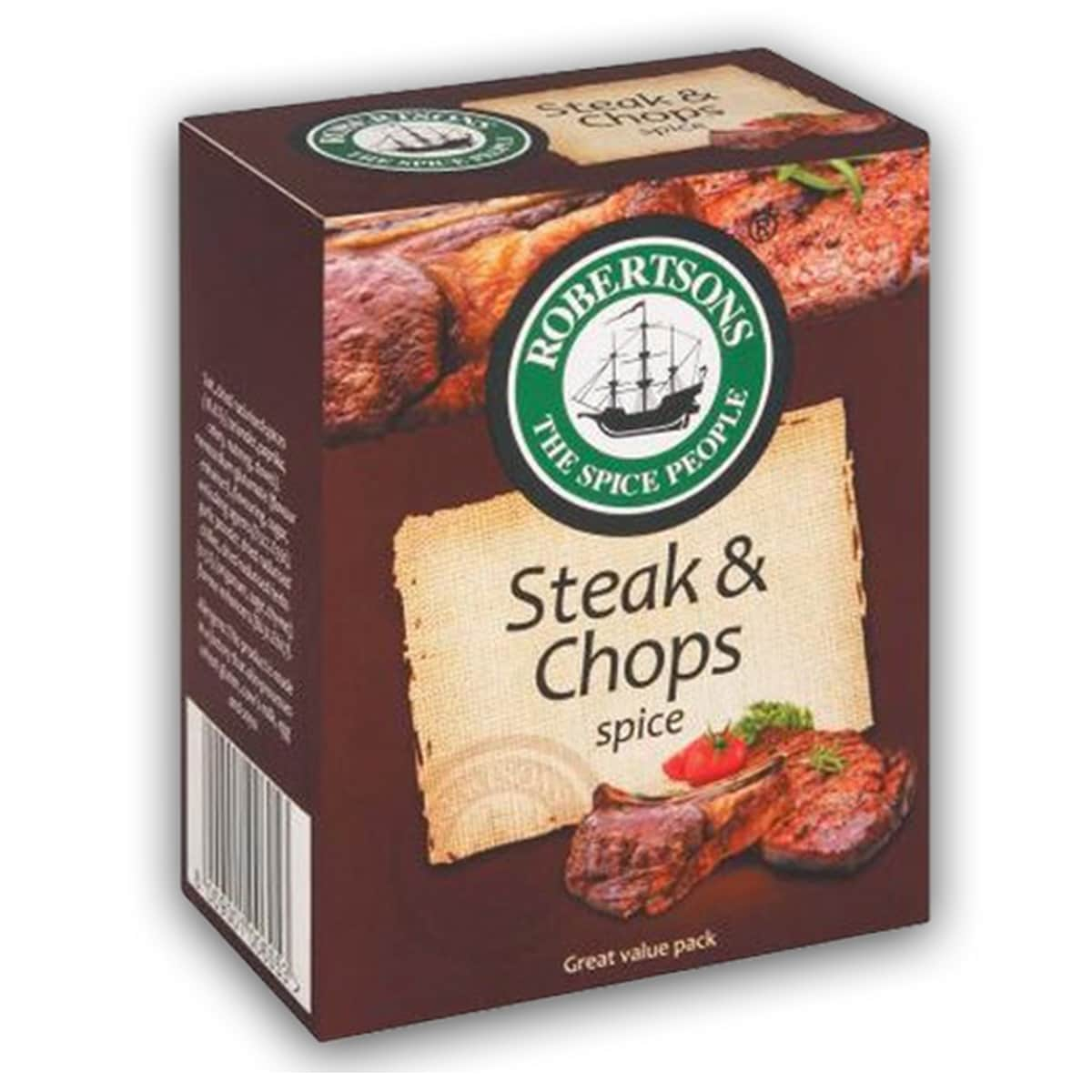 Buy Robertsons Steak and Chops Spice Refill - 80 gm