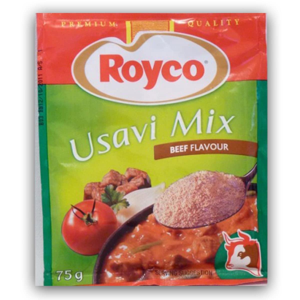Buy Royco Usavi Mix Beef Flavour - 75 gm