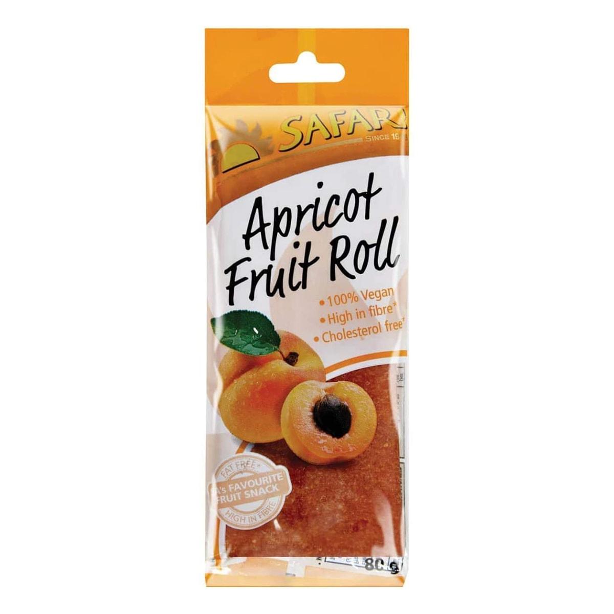 Buy Safari Fruit Apricot Roll - 80 gm