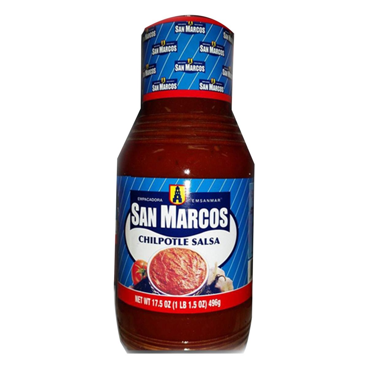 Buy San Marcos Chipotle Salsa - 496 gm